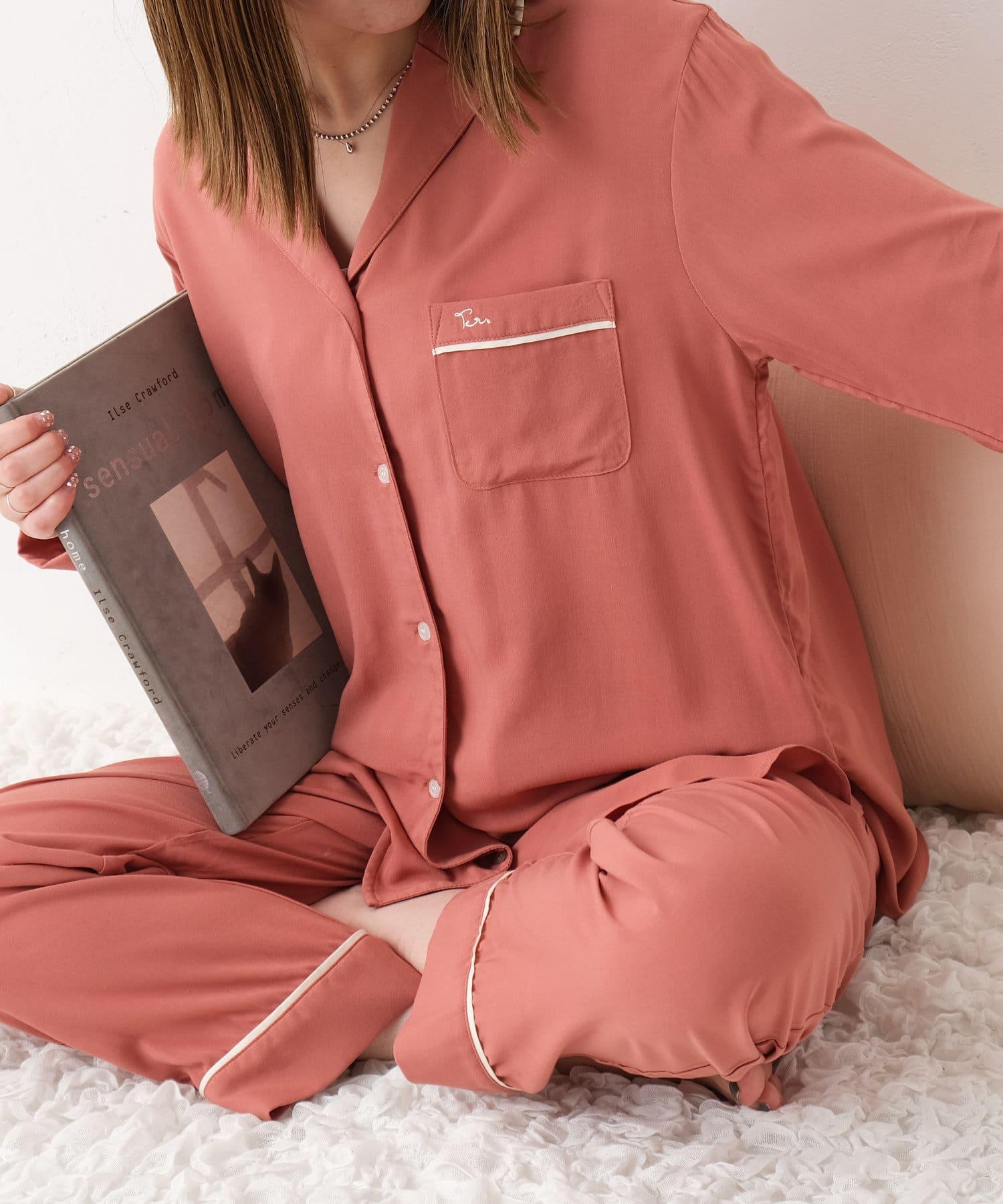 TERRITOIRE(テリトワール) 【しあわせな眠りを】LADIES 快眠リラックスパジャマ 上下セット