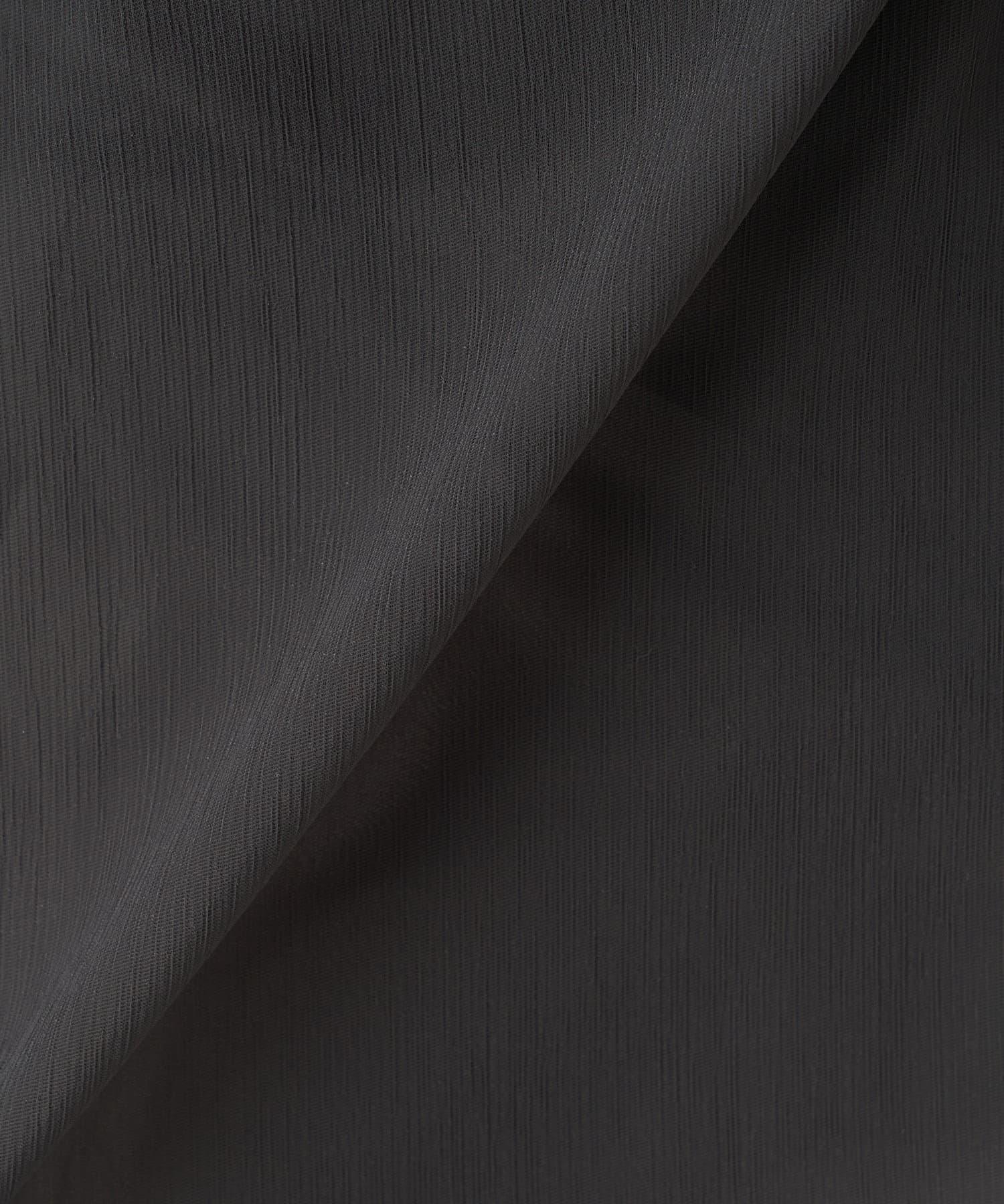 La boutique BonBon(ラブティックボンボン) 【洗える】楊柳カフタンチュニックブラウス
