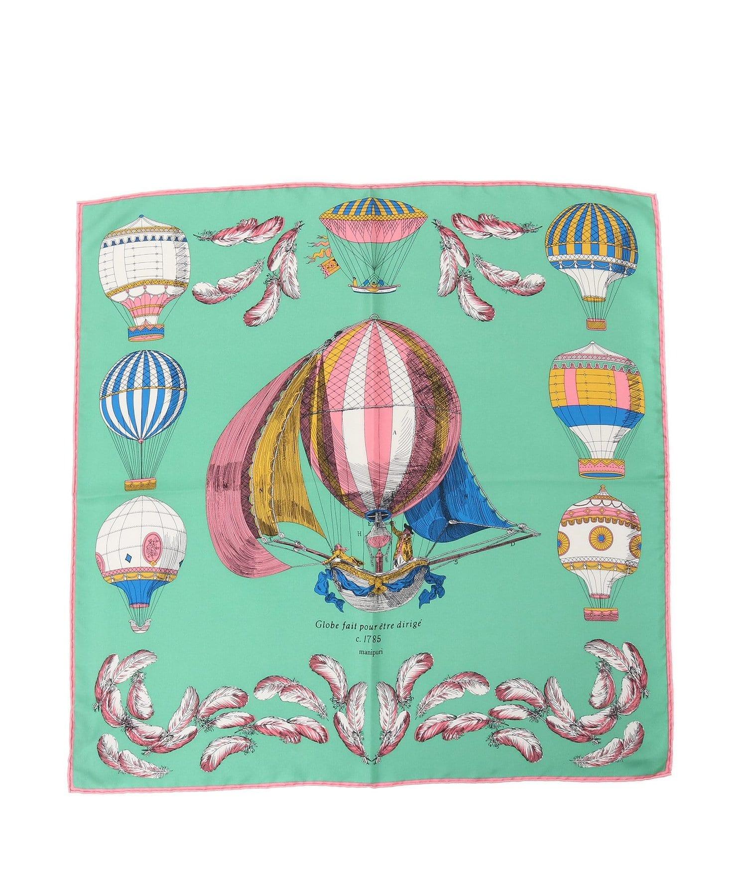 Loungedress(ラウンジドレス) 【manipuri/マニプリ】WEB限定 気球柄スカーフ