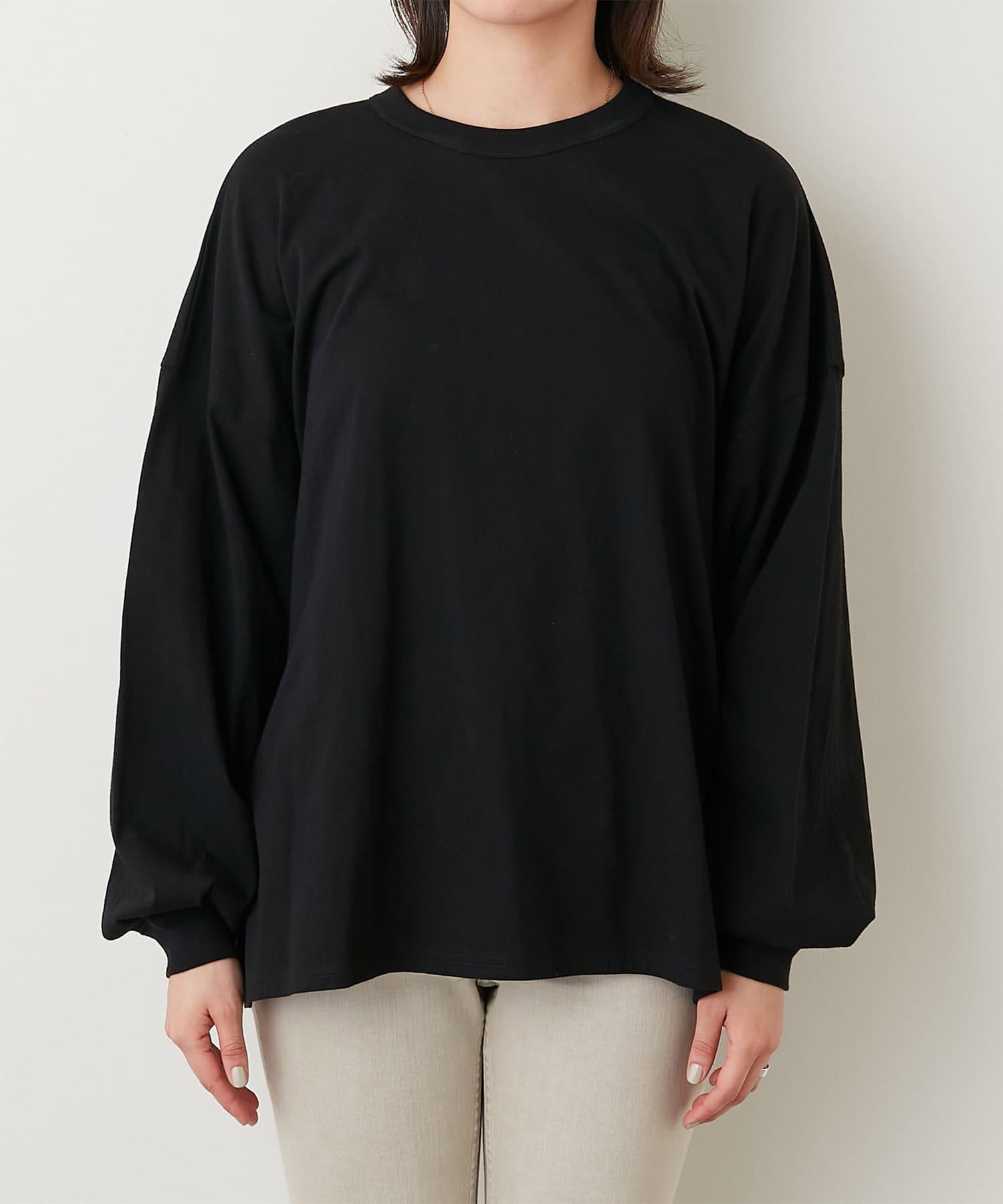 GALLARDAGALANTE(ガリャルダガランテ) バックオープンロングTシャツ【オンラインストア限定商品】