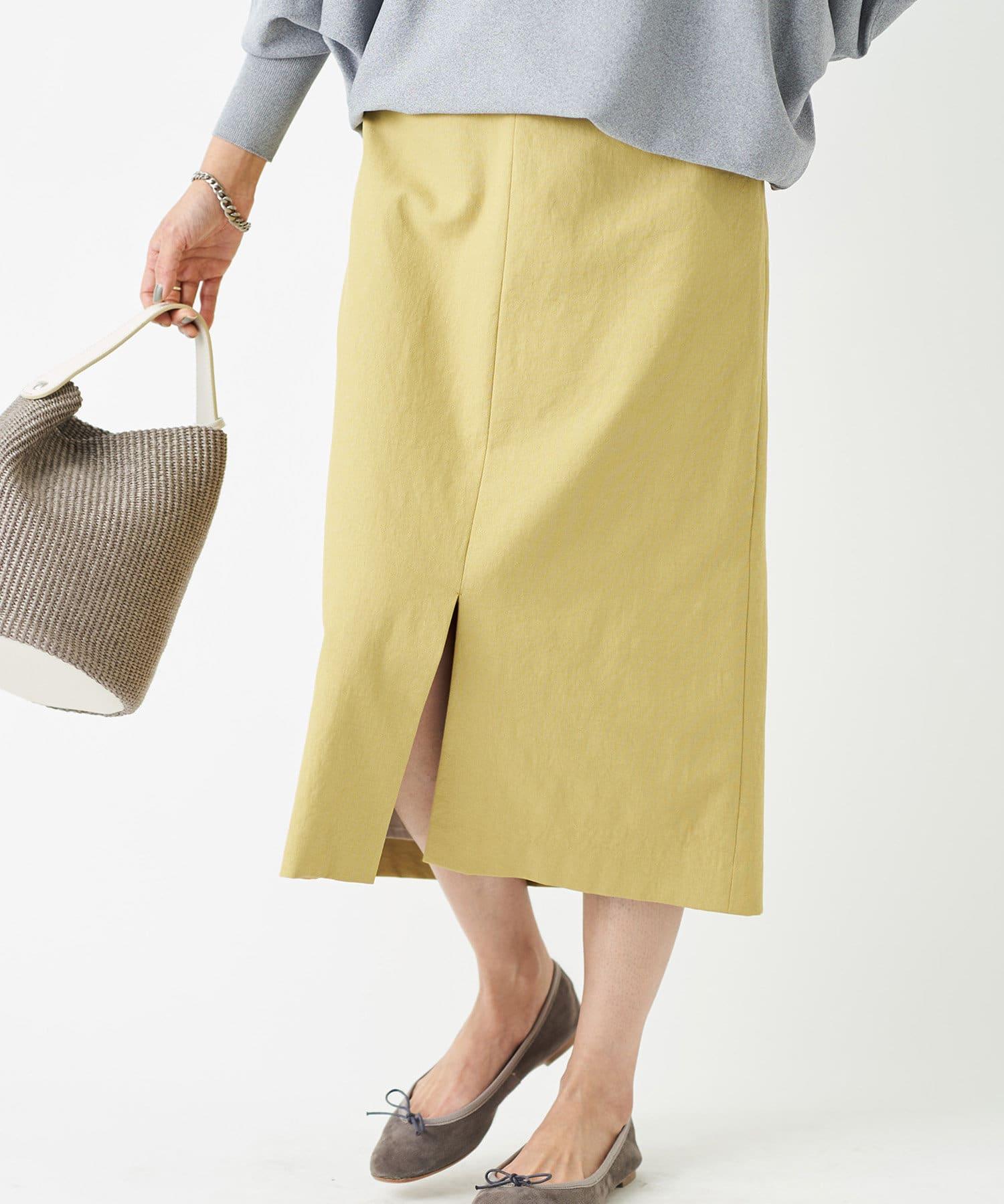 RIVE DROITE(リヴドロワ) 【《女性らしさを高めてくれる一枚》手洗い可】オックススリットスカート