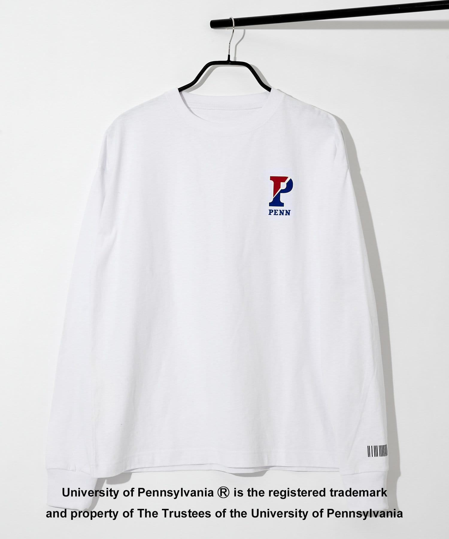 COLONY 2139(コロニー トゥーワンスリーナイン) COLONY 2139(コロニー トゥーワンスリーナイン) カレッジUSAコットン天竺長袖Tシャツ/ロンT (ユニセックス可) ホワイトその他2