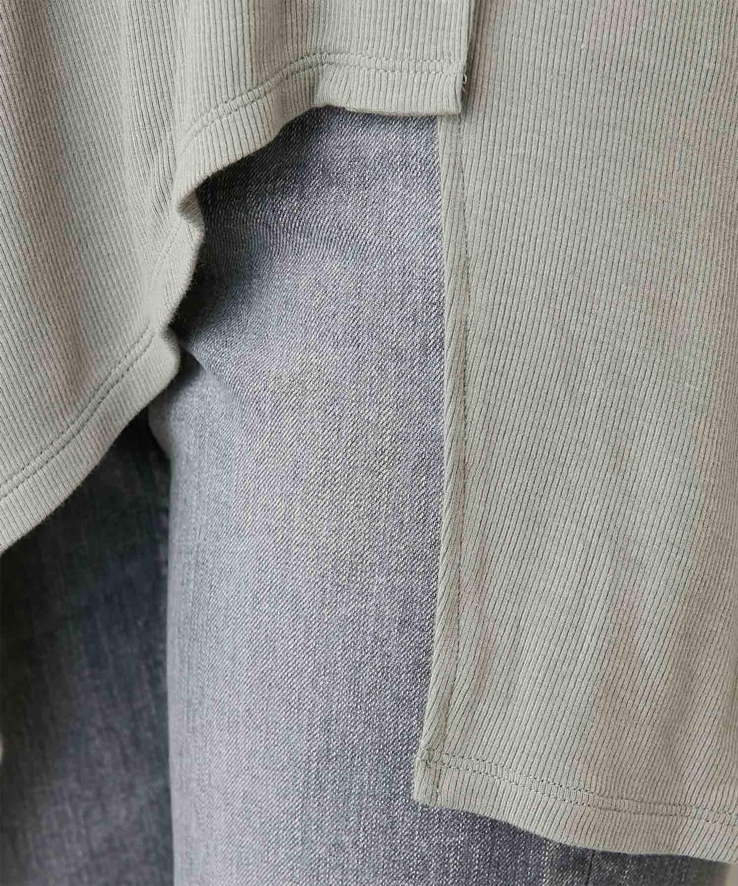 GALLARDAGALANTE(ガリャルダガランテ) イレギュラーヘムカットソー【オンラインストア限定商品】