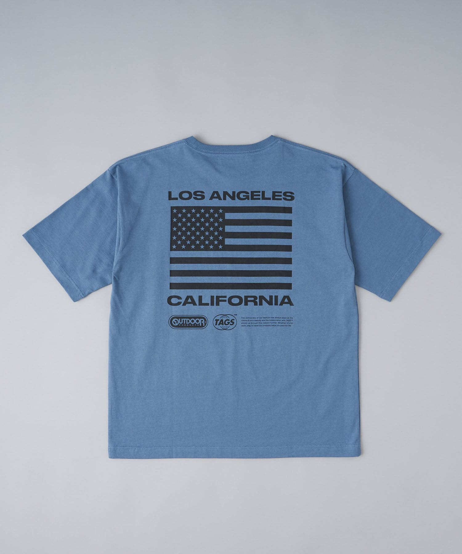 CIAOPANIC(チャオパニック) 【TAGS™×OUTDOOR PRODUCTS】The Standard TEE