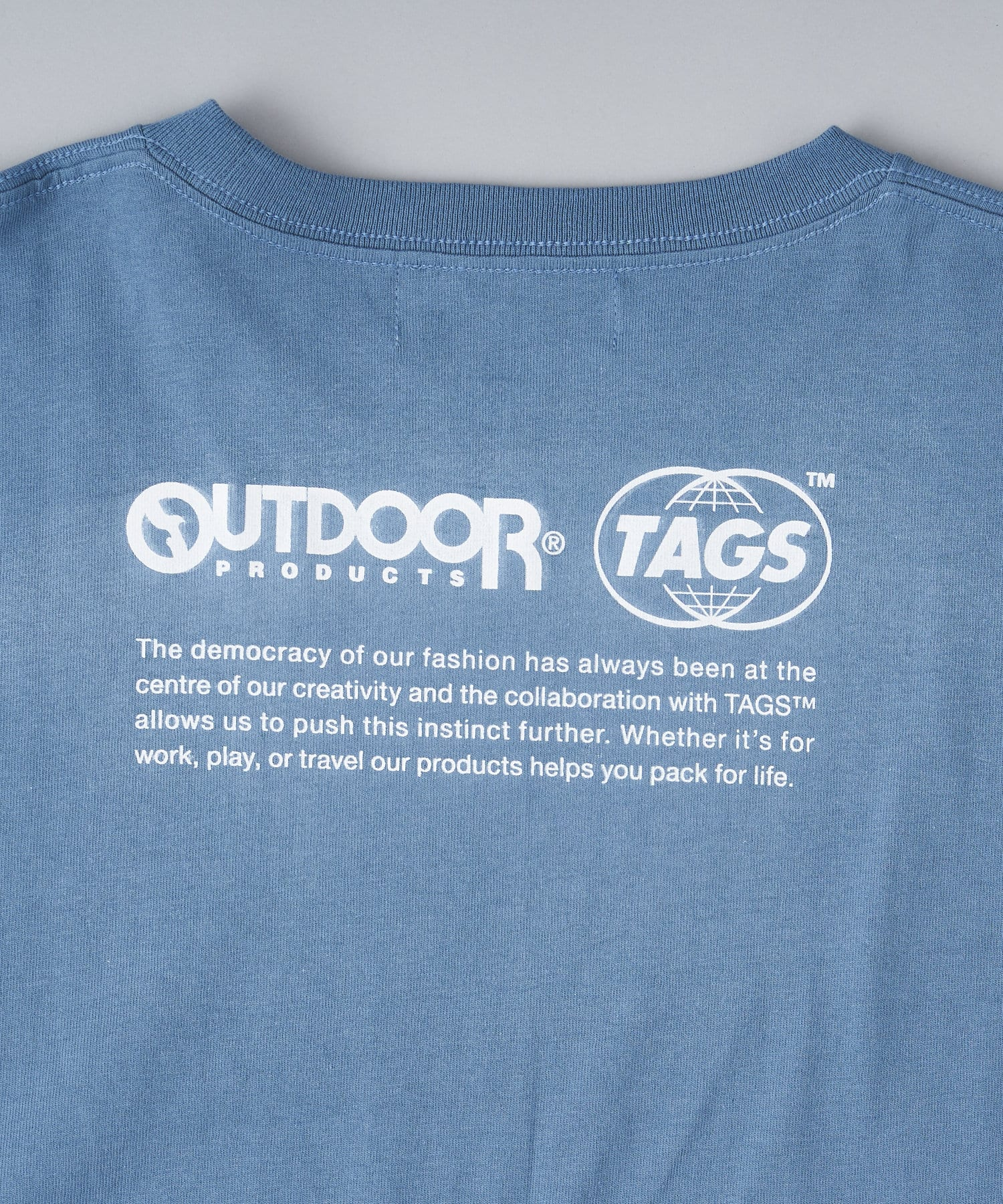 CIAOPANIC(チャオパニック) 【TAGS™×OUTDOOR PRODUCTS】JointWorks  TEE