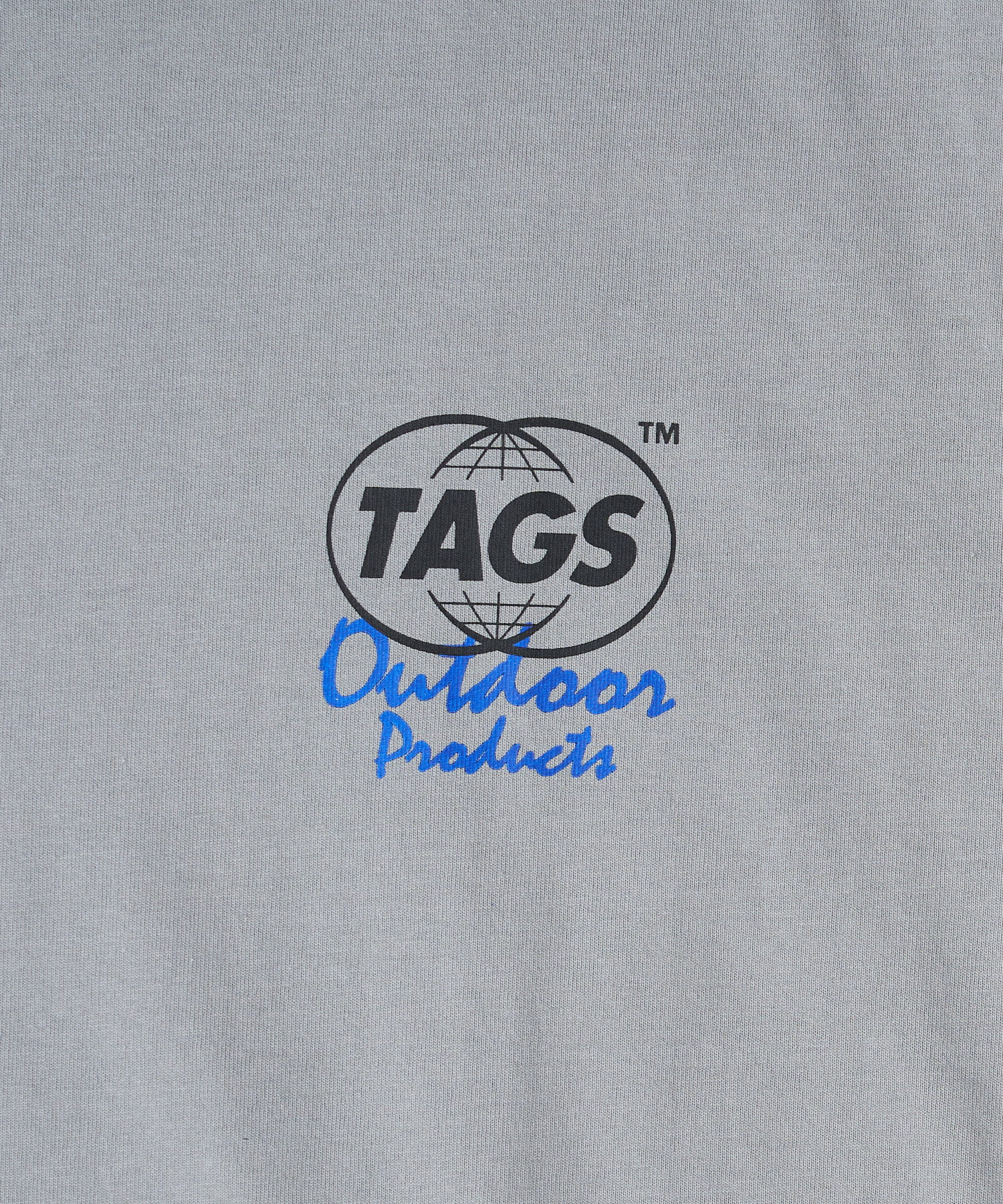 CIAOPANIC(チャオパニック) 【TAGS™×OUTDOOR PRODUCTS】 Logos Print TEE
