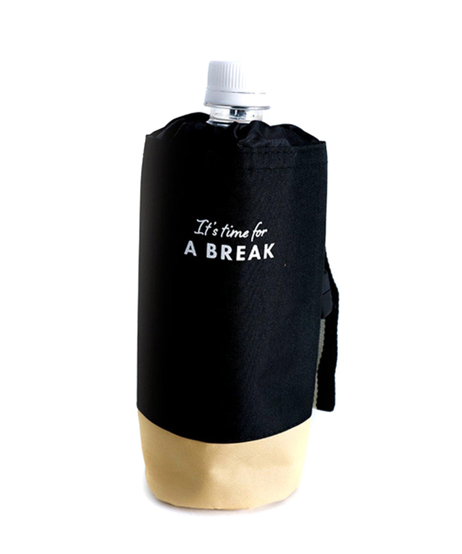 3COINS(スリーコインズ) ライフスタイル 保冷ペットボトルホルダー ブラック