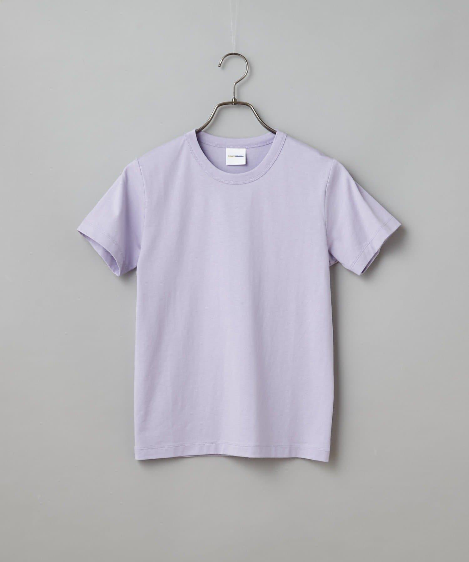 CIAOPANIC(チャオパニック) バイオ加工レギュラーコットンコンパクトTシャツ