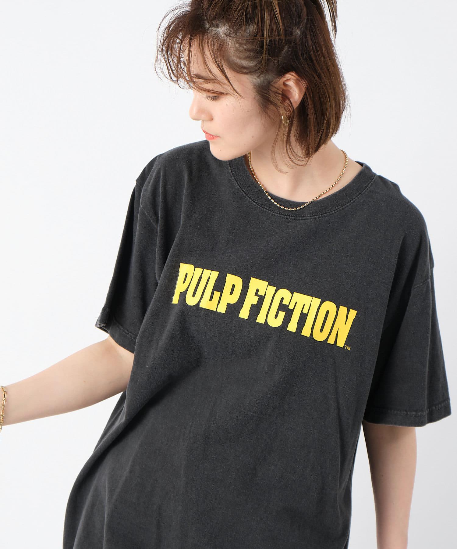 RIVE DROITE(リヴドロワ) レディース 【《GOOD ROCK SPEED》洗える】PULPFICTION Tシャツ ブラック
