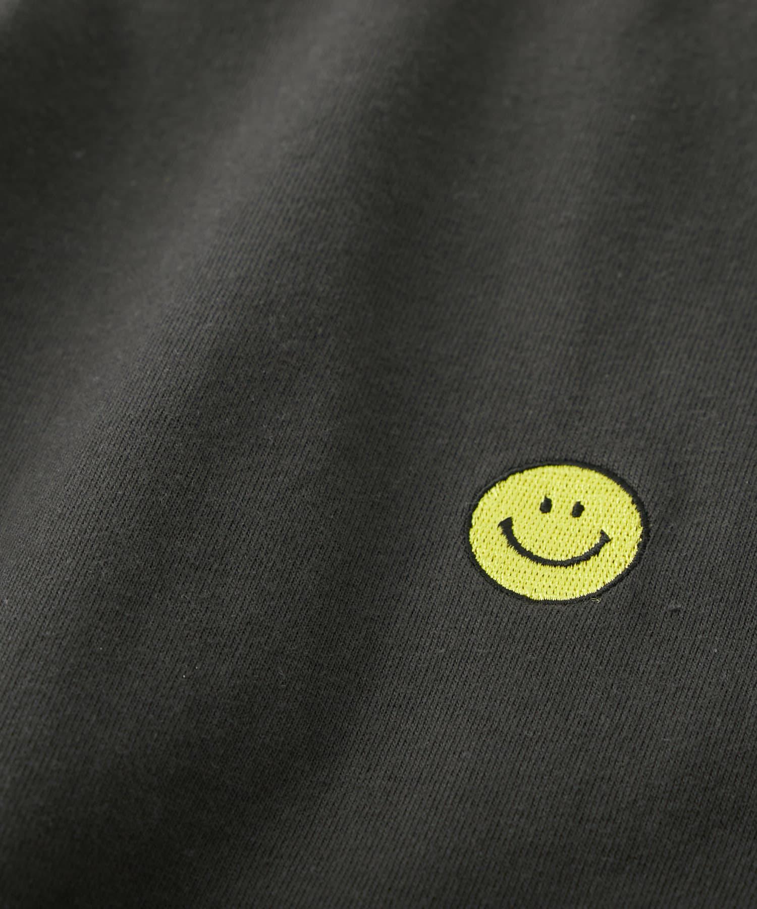 RIVE DROITE(リヴドロワ) 【GOOD ROCK SPEED】SmilyfaceジェンダーレスTシャツ