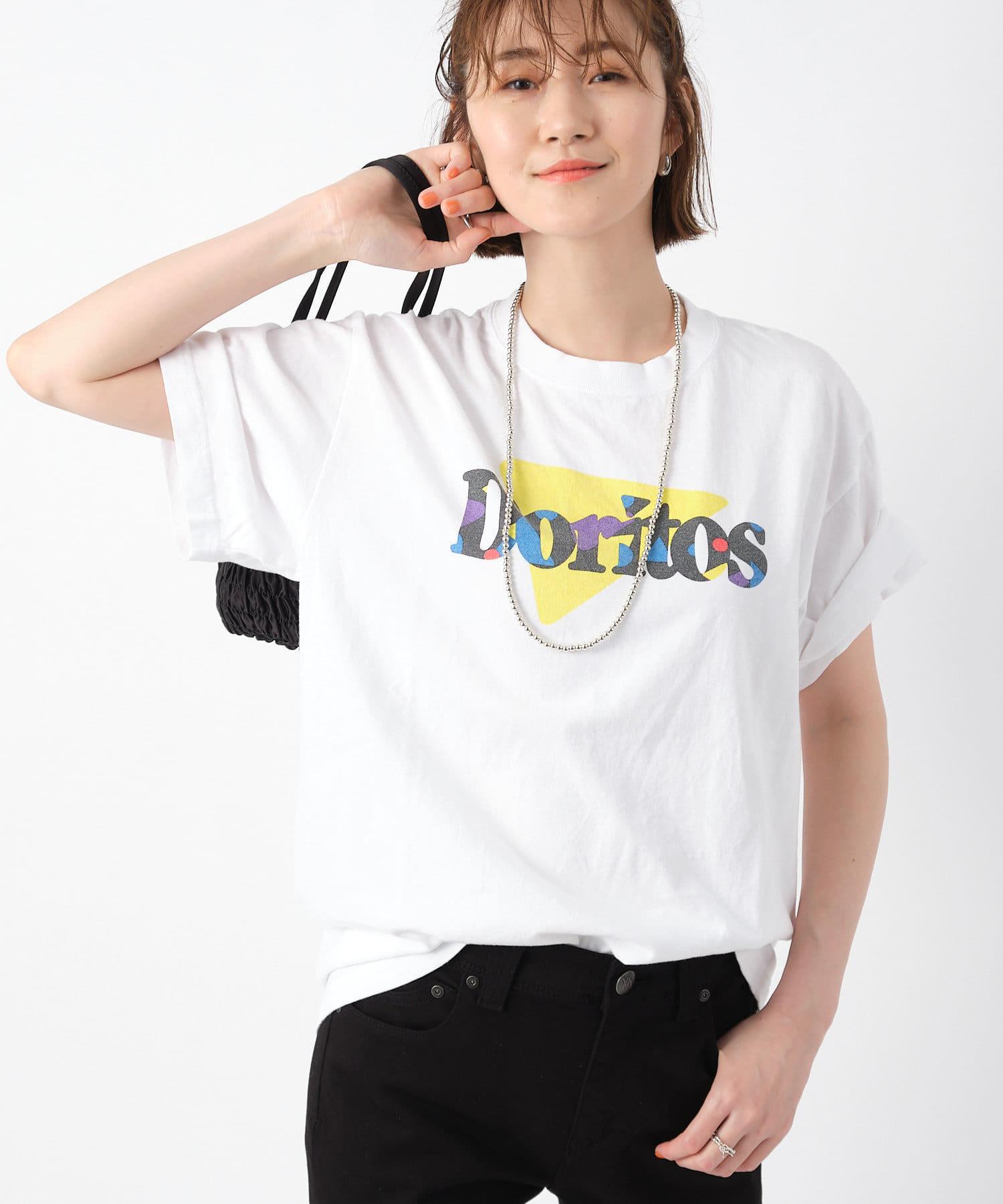 RIVE DROITE(リヴドロワ) レディース 【《GOOD ROCK SPEED》洗える】DORITOS Tシャツ オフホワイト