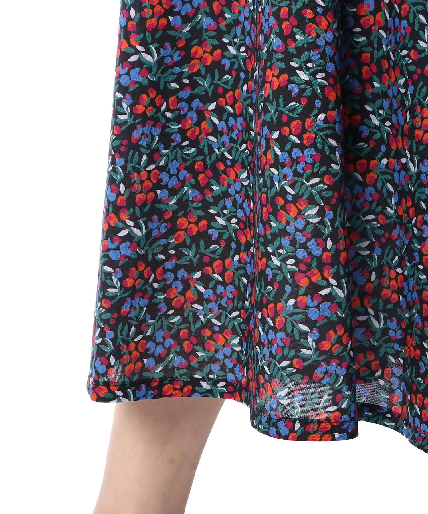 La boutique BonBon(ラブティックボンボン) 小花プリントスカート
