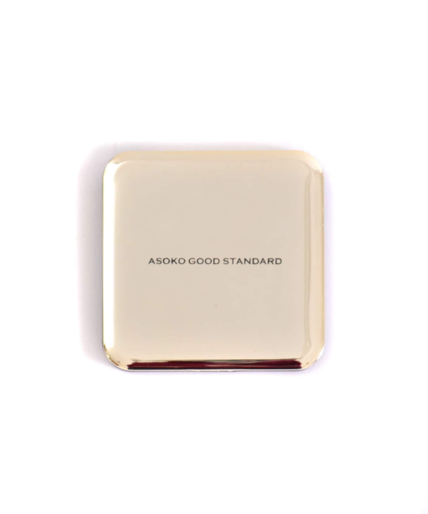 ASOKO(アソコ) ライフスタイル 【ASOKO GOOD STANDARD】コンパクトミラー ゴールド