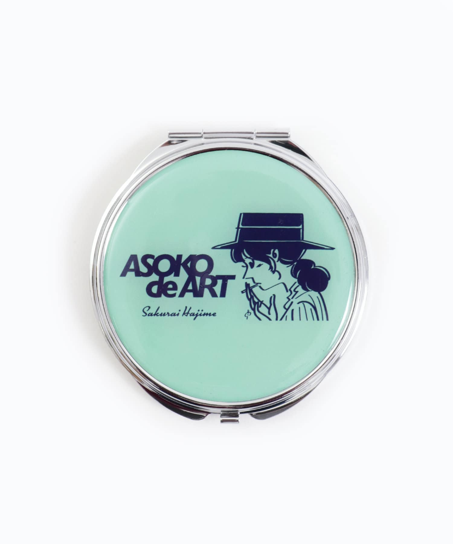 3COINS(スリーコインズ) 【ASOKO】【ASOKO de ART】コンパクトミラー