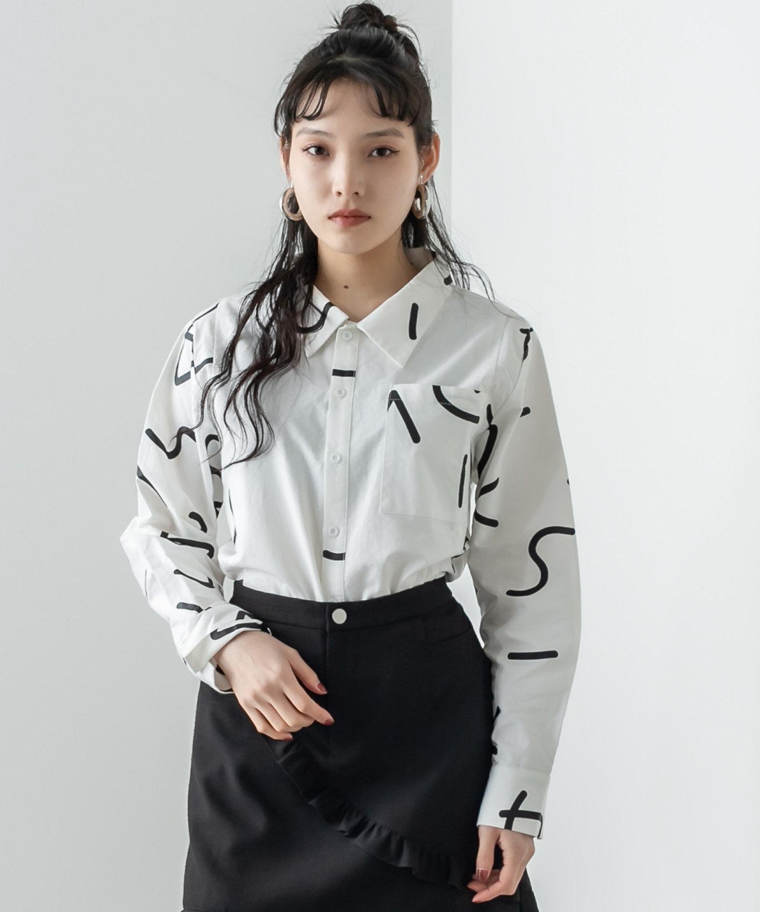 RASVOA(ラスボア) ウニョウニョシャツ