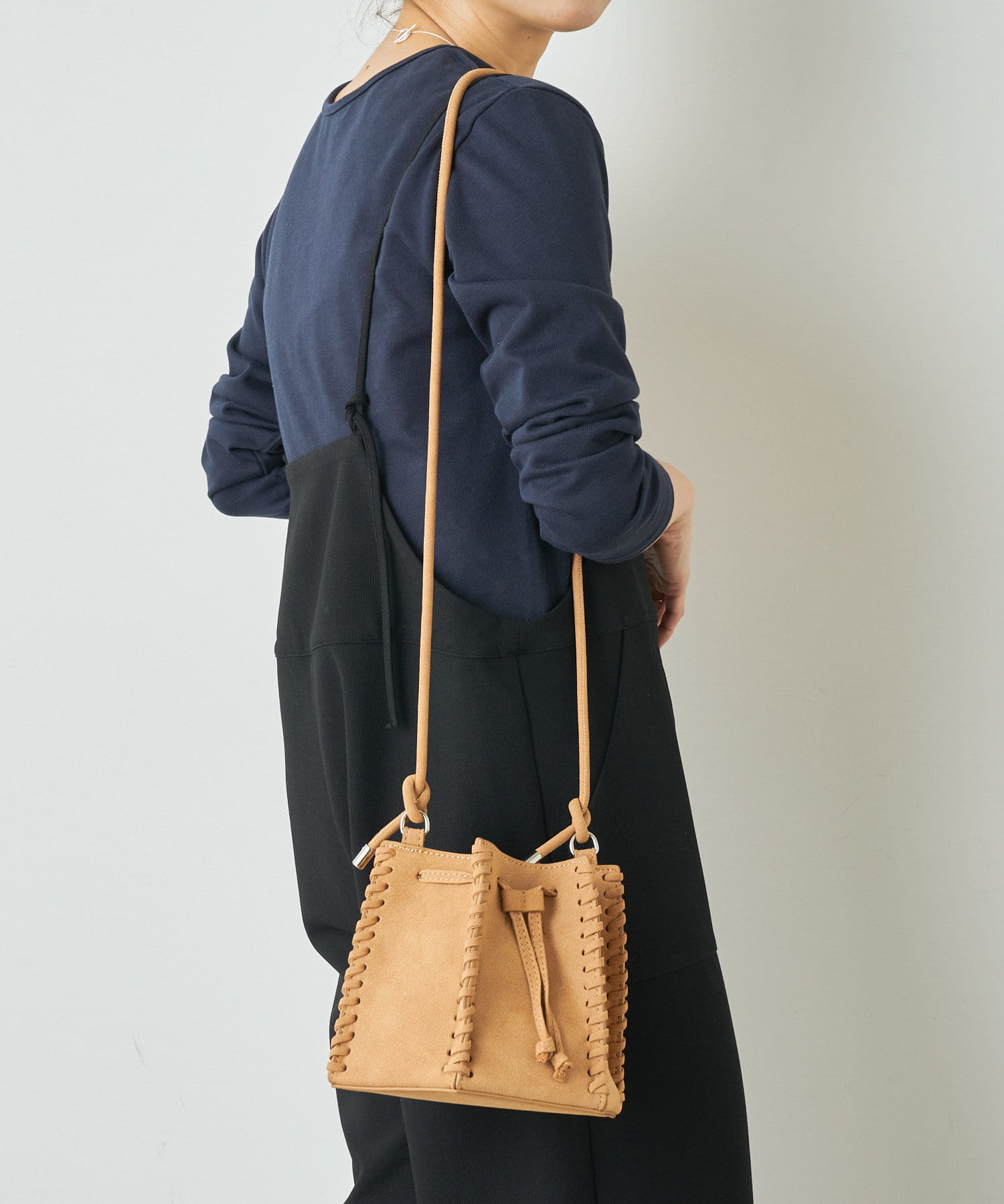 Omekashi(オメカシ) 【WEB限定】PROTCOL Hexagon Leather Bag