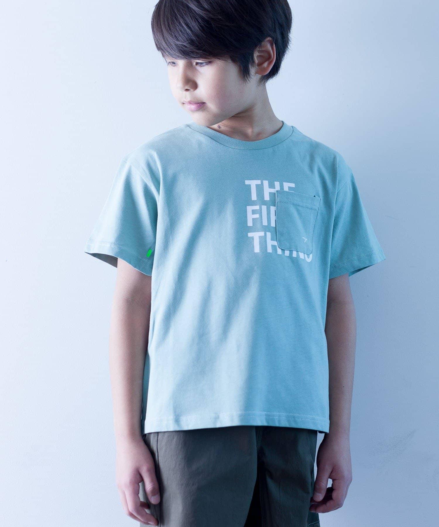 CIAOPANIC TYPY(チャオパニックティピー) キッズ 【KIDS】【瞬足】シルケット天竺ポケットTee ミント