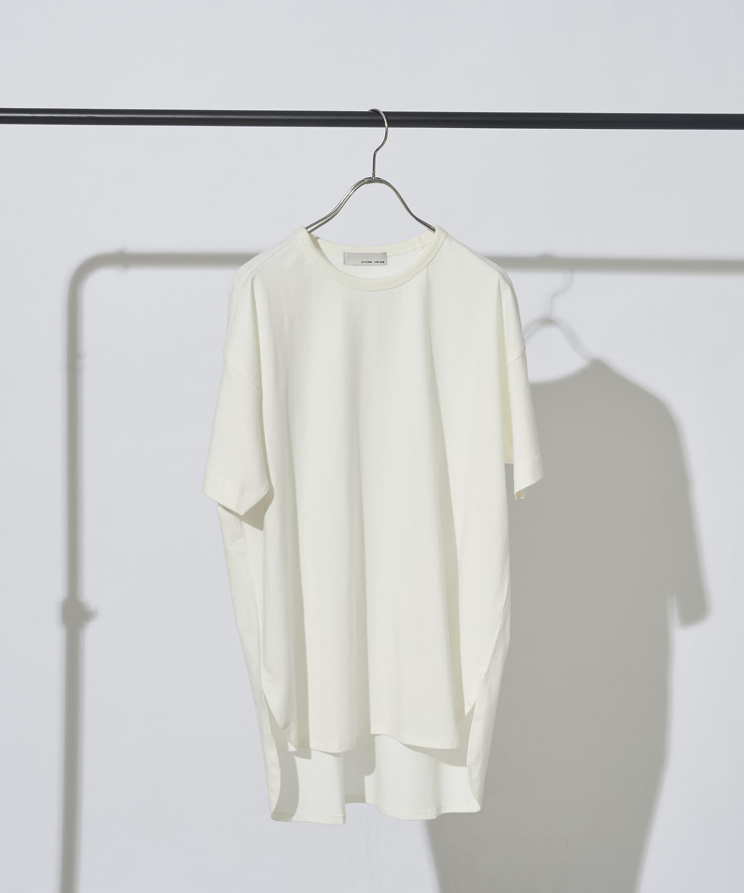 prose verse(プロズヴェール) オーガニックコットン半袖Tシャツ