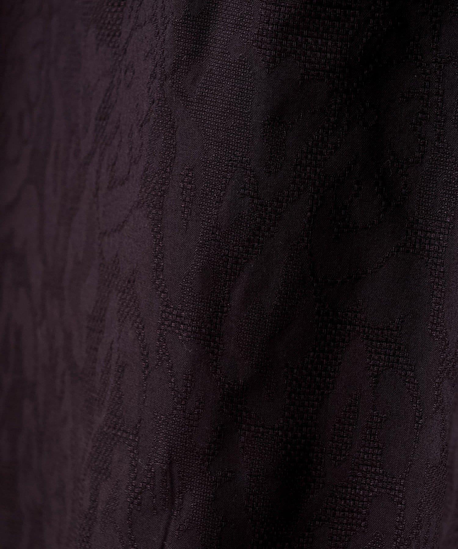 CIAOPANIC(チャオパニック) ジャガードギャザーキャミワンピース