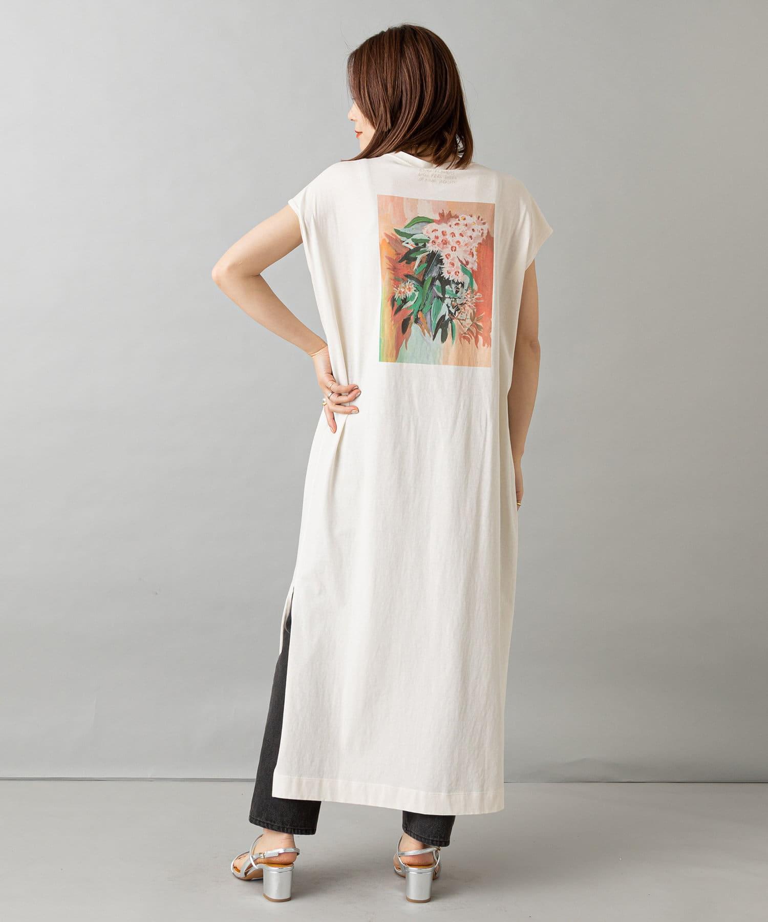 Omekashi(オメカシ) レディース TOLIGHT blooming print onepiece アイボリー