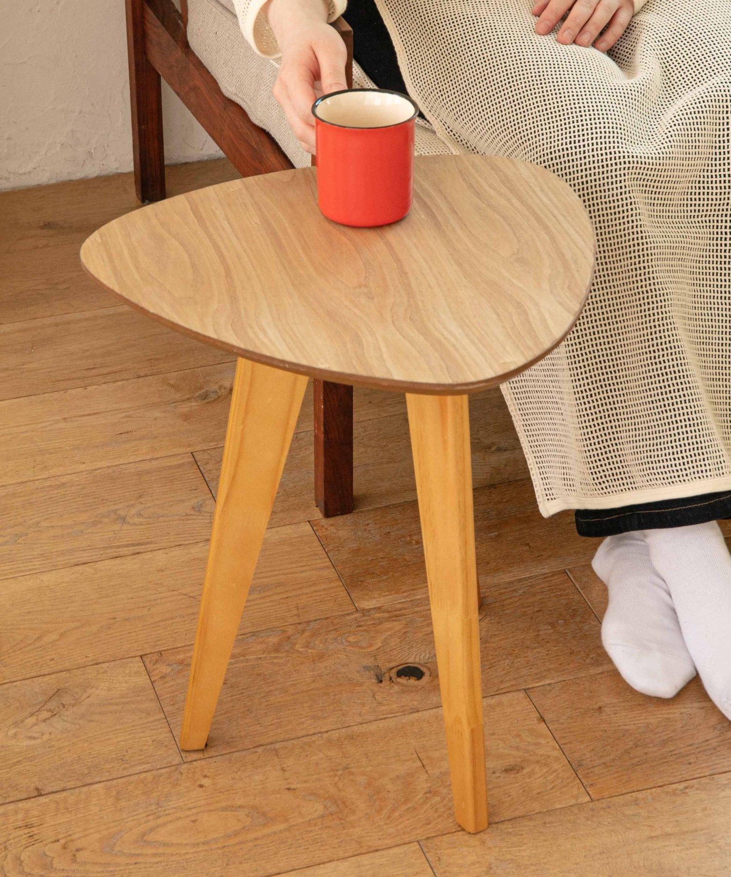 CIAOPANIC TYPY(チャオパニックティピー) ライフスタイル 【aamu-アーム】コーヒーテーブルS ベージュ