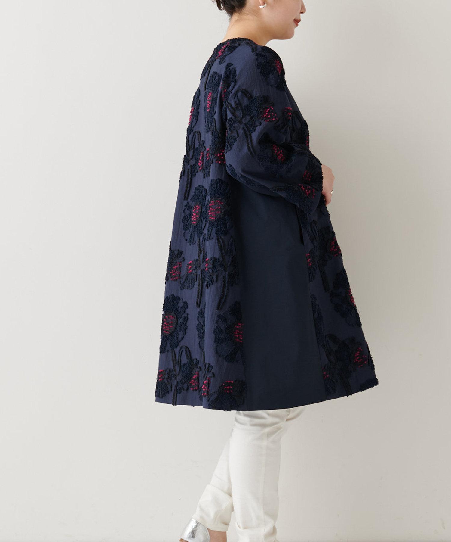 BEARDSLEY(ビアズリー) 花ジャガードコート
