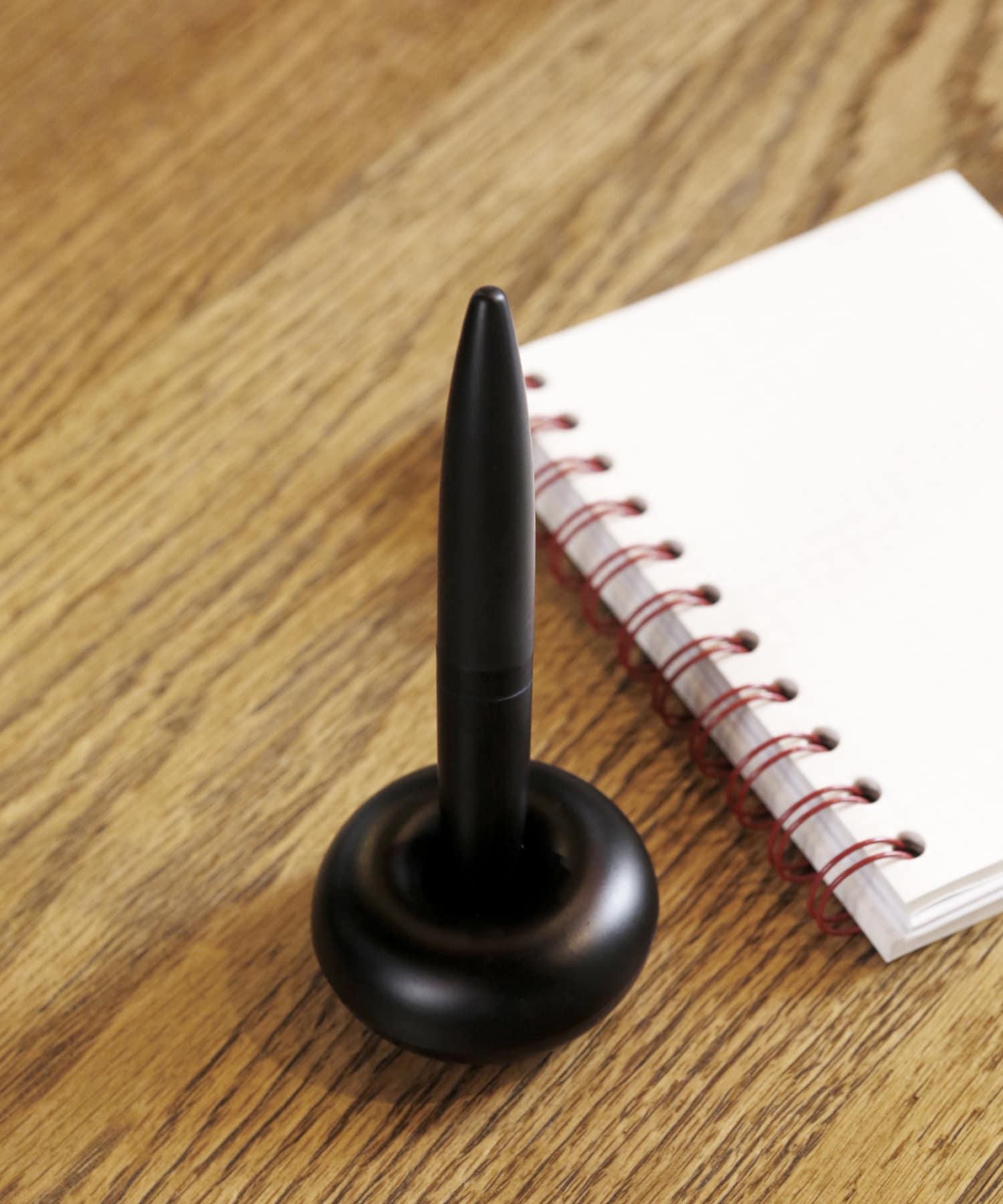 ASOKO(アソコ) ライフスタイル 丸スタンド付きボールペン ブラック