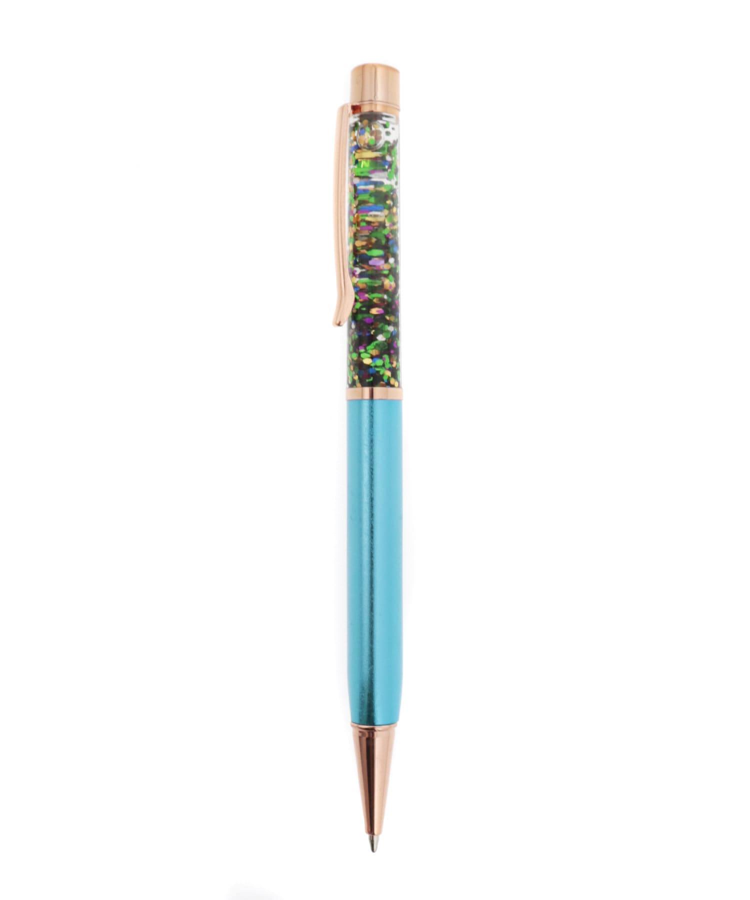 3COINS(スリーコインズ) 【ASOKO】流れるラメボールペン