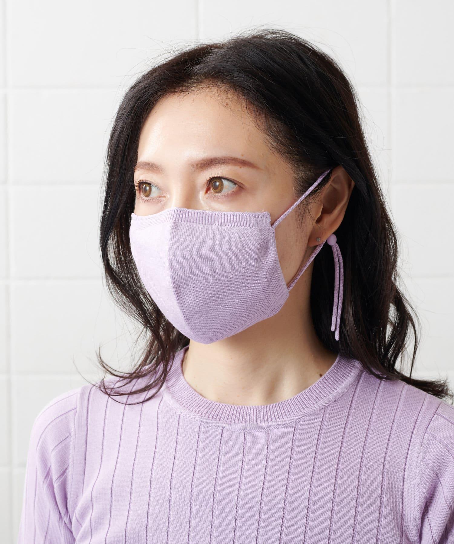 PLUS OTO.HA(プラス オトハ) シルク100%ニットマスク