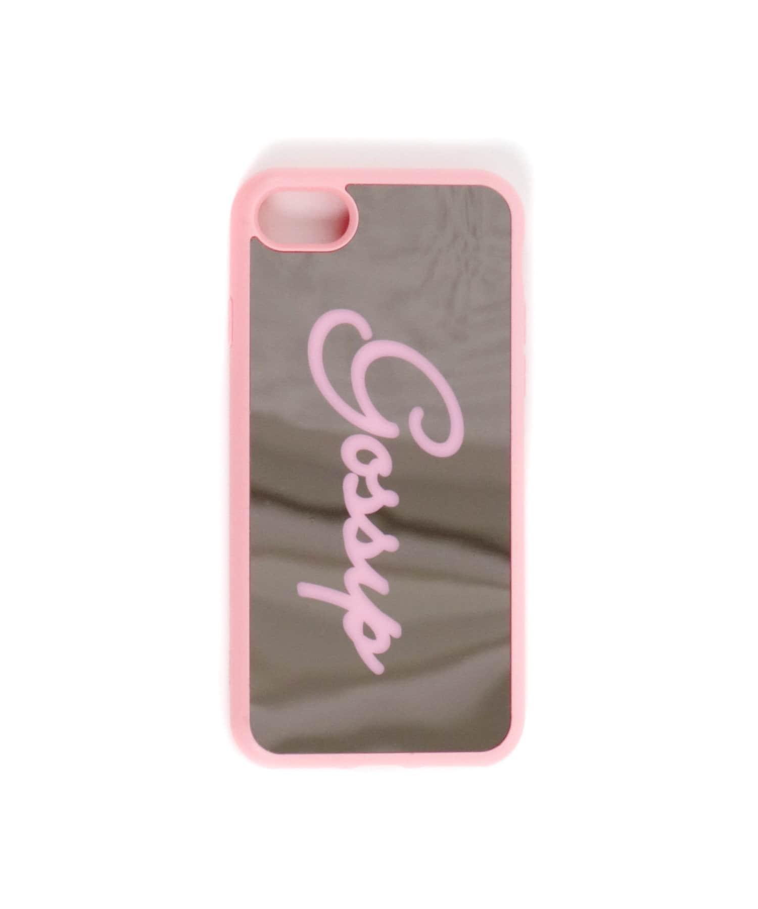 ASOKO(アソコ) ライフスタイル ミラーロゴiPhone7・8ケース ピンク