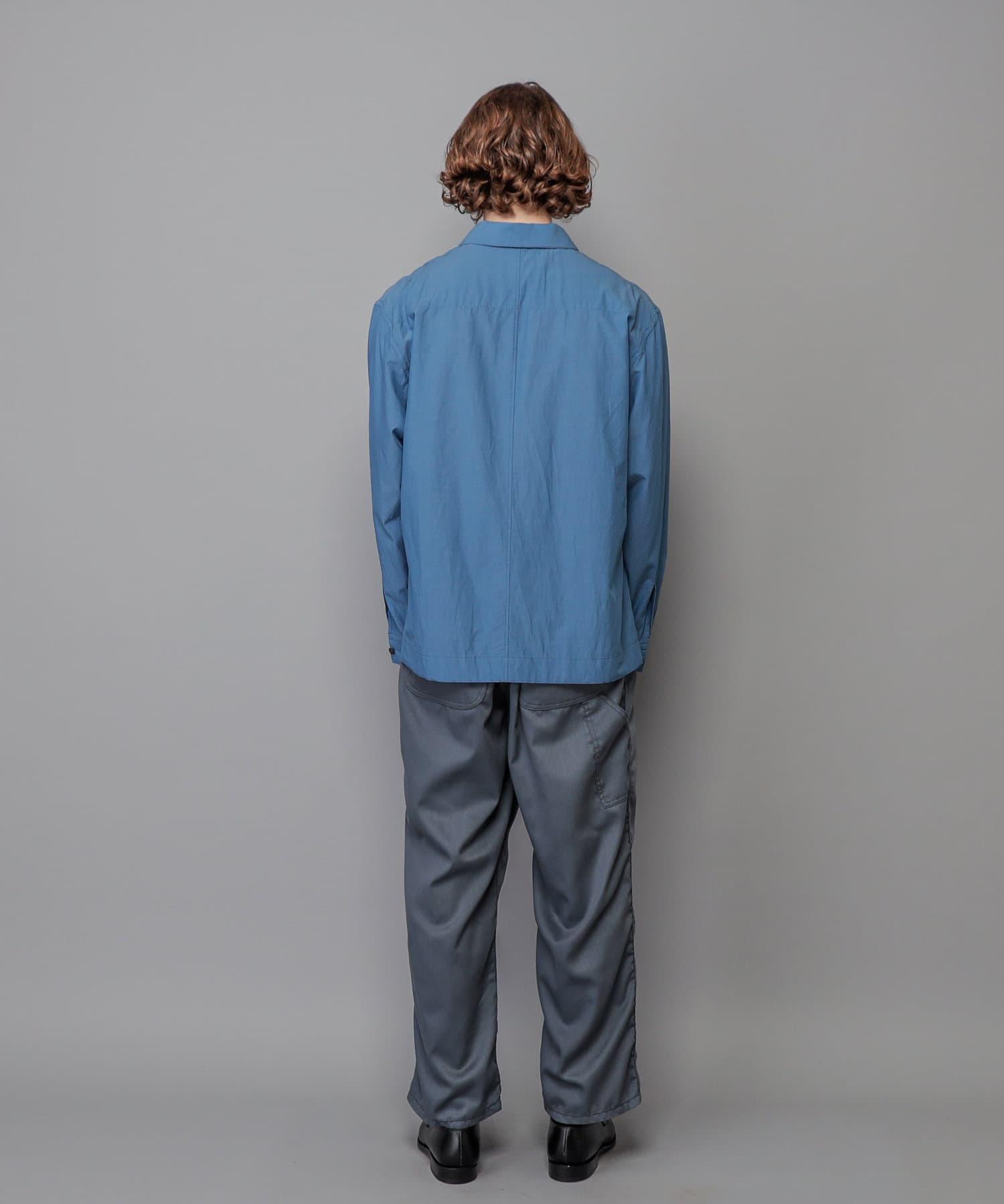 CIAOPANIC(チャオパニック) 【So_lemn/ソレム】キュプラコットンコーチシャツ