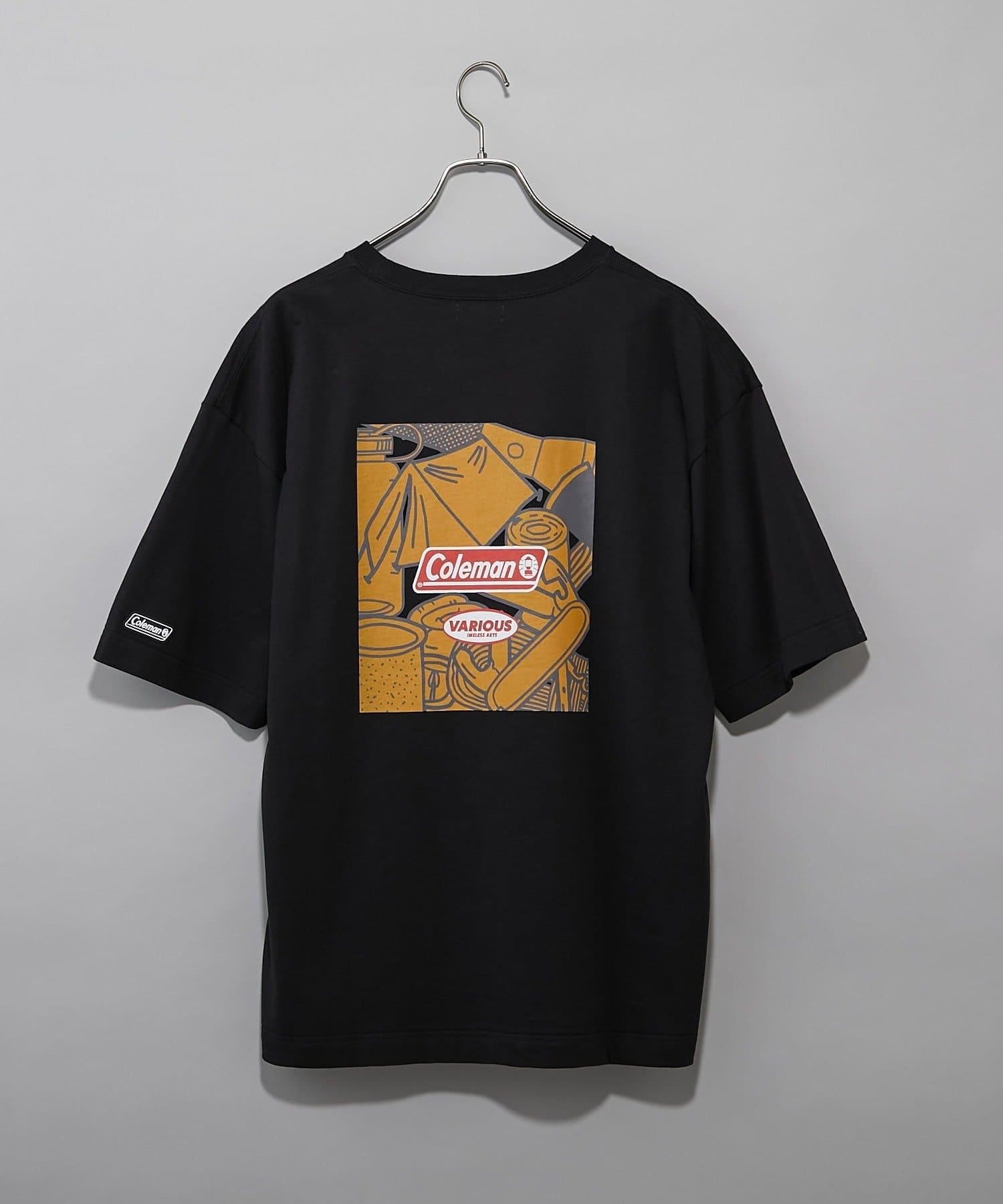 CIAOPANIC(チャオパニック) 【Coleman×CIAOPANIC】CAMP バックプリントロゴTシャツ