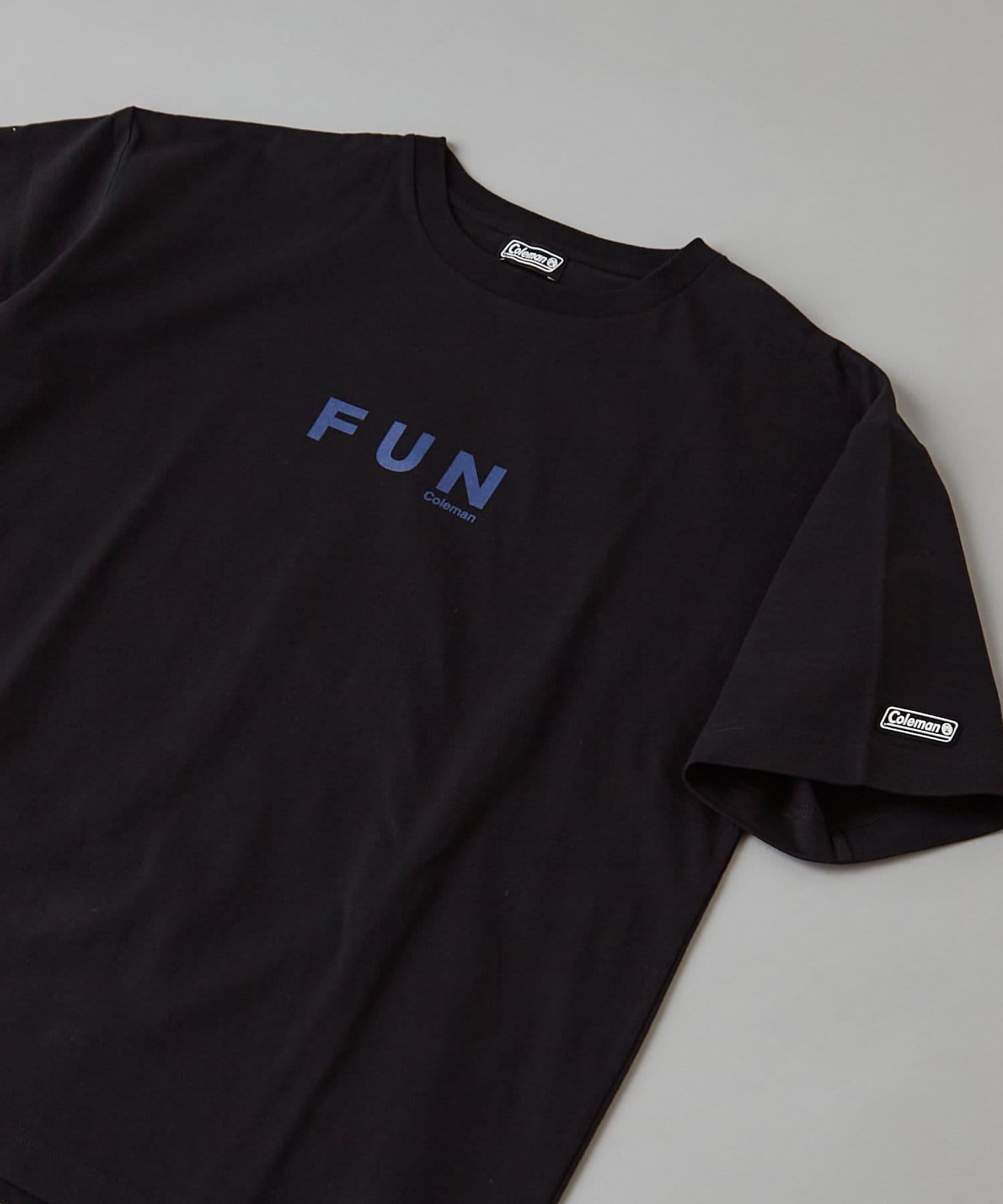 CIAOPANIC(チャオパニック) 【Coleman×CIAOPANIC】FUN バックプリントロゴTシャツ
