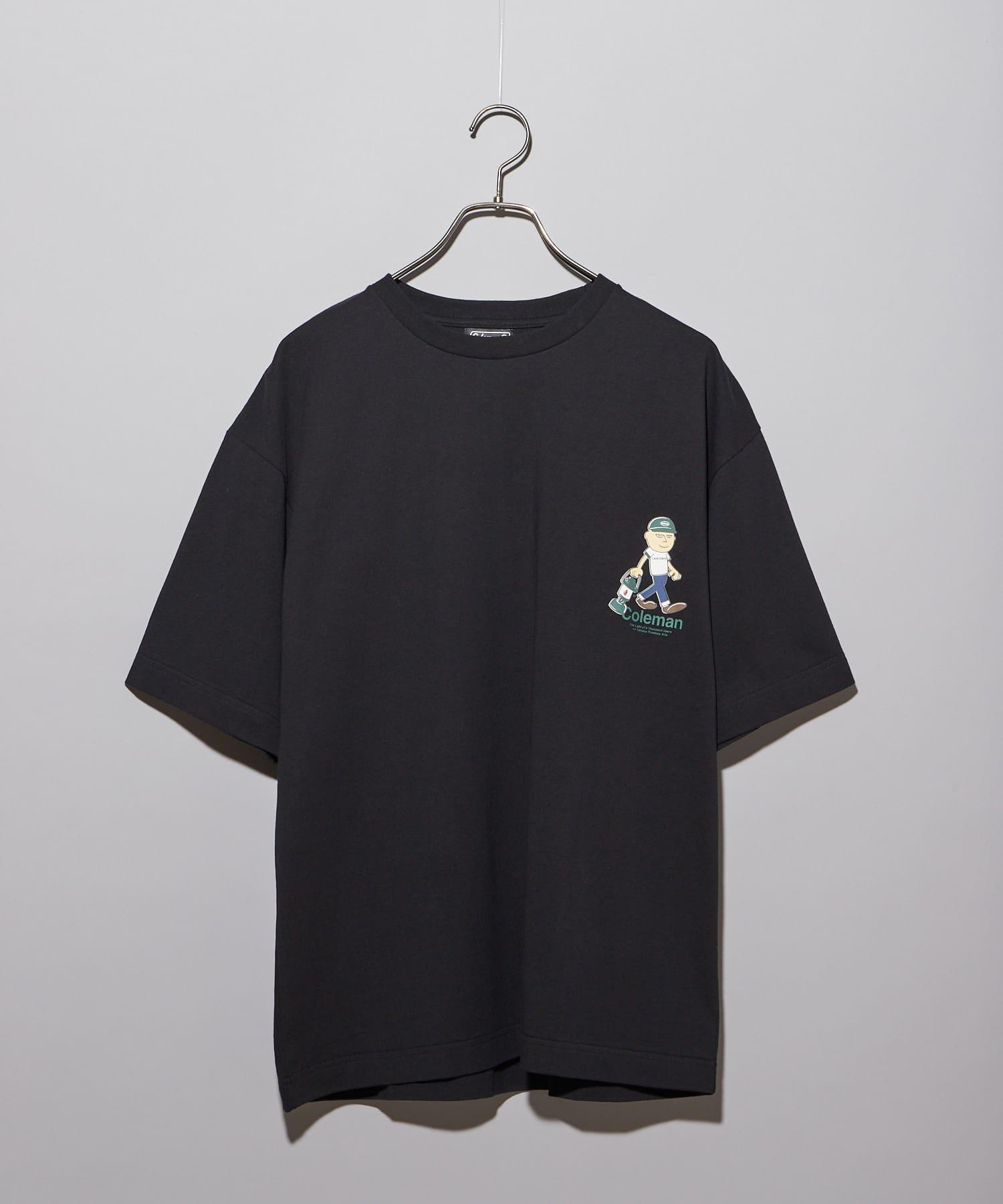 CIAOPANIC(チャオパニック) 【Coleman×CIAOPANIC】LANTERN MAN プリントTシャツ