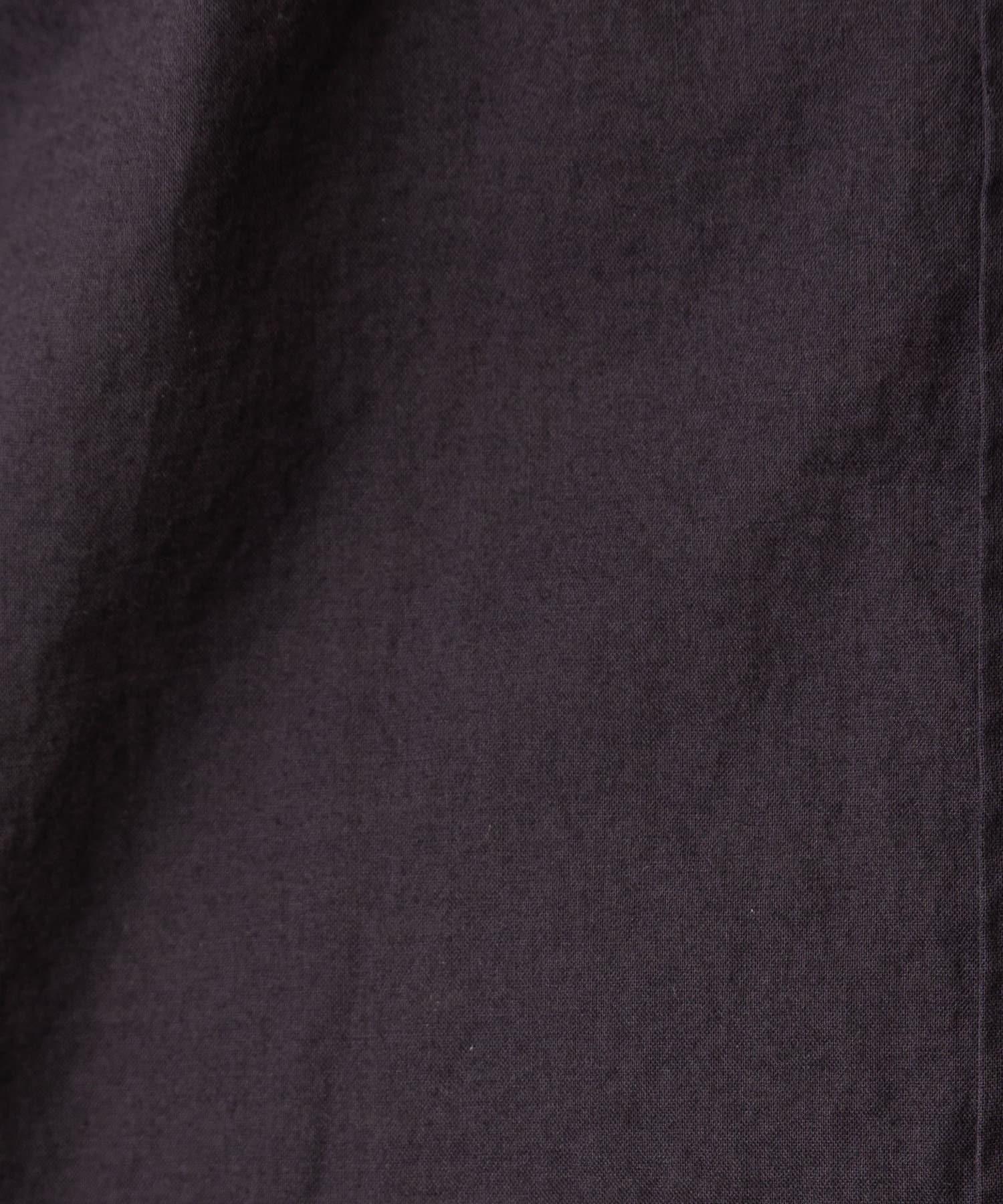GALLARDAGALANTE(ガリャルダガランテ) バックボタンシアーシャツ
