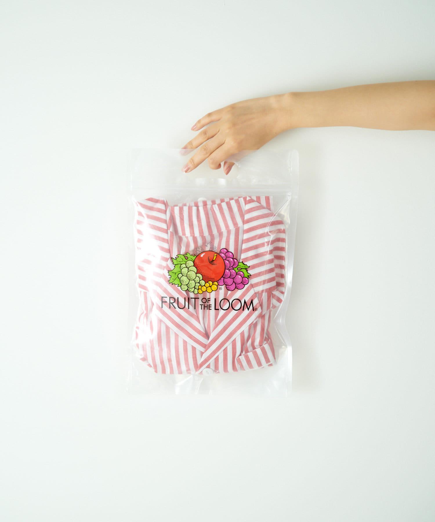 TERRITOIRE(テリトワール) 【FRUIT OF THE LOOM】LADIESリラックスコットンパジャマ半