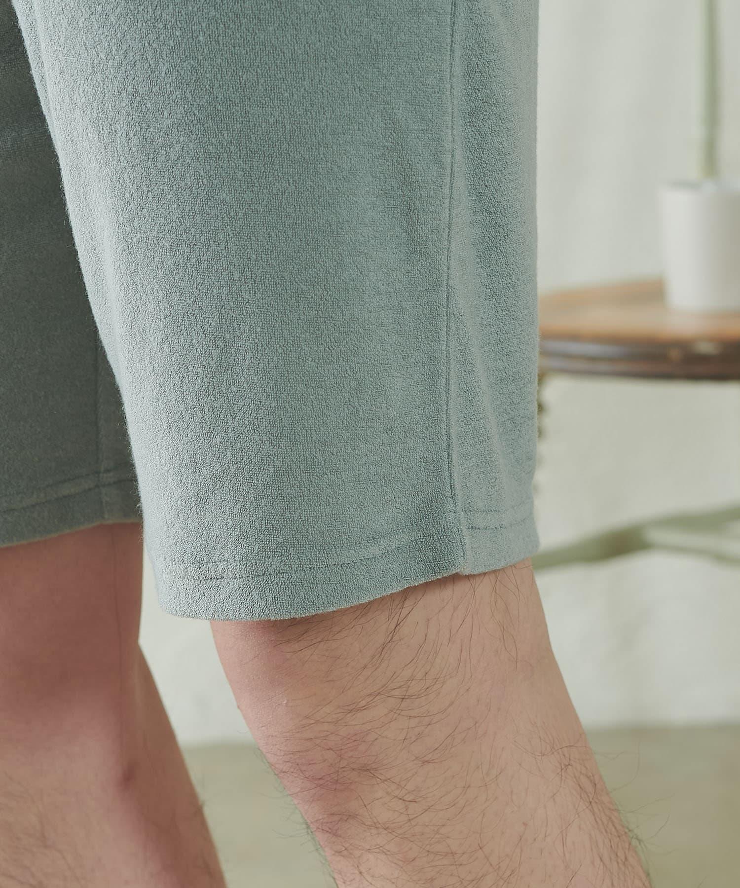 TERRITOIRE(テリトワール) 【FRUIT OF THE LOOM】MENS パイルルームウェアセット
