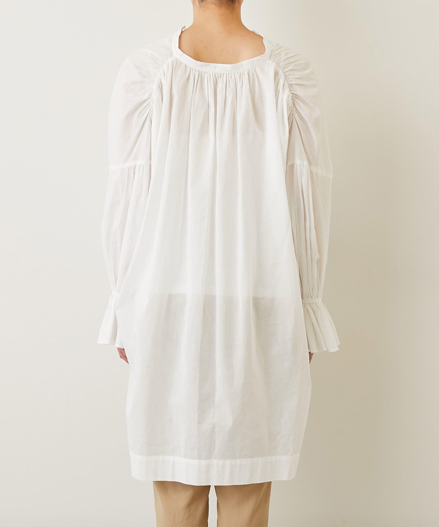 GALLARDAGALANTE(ガリャルダガランテ) バックロングプルオーバーシャツ