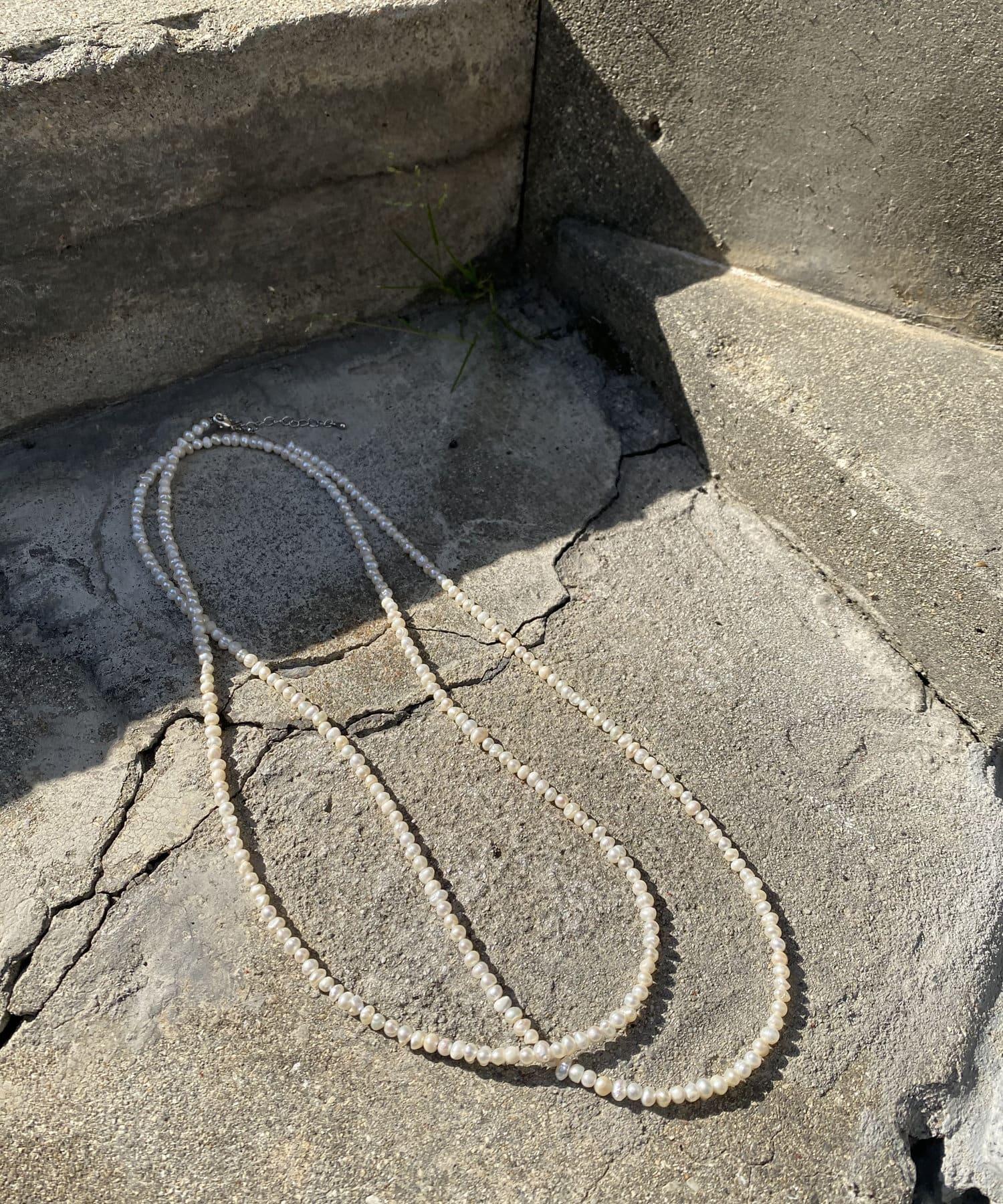 DOUDOU(ドゥドゥ) 本淡水パールロングネックレス