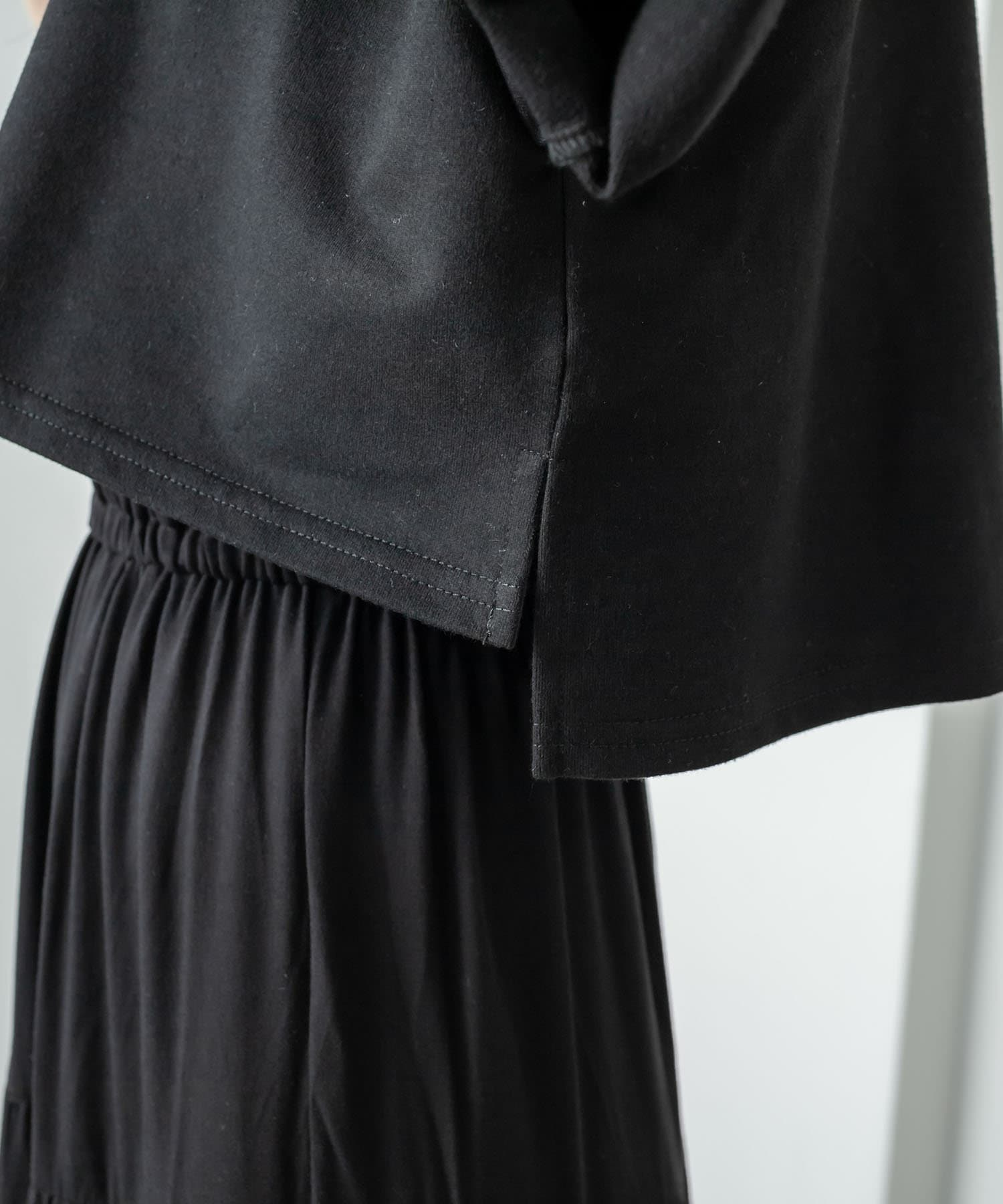 RASVOA(ラスボア) レイヤード風半袖ティアードワンピース