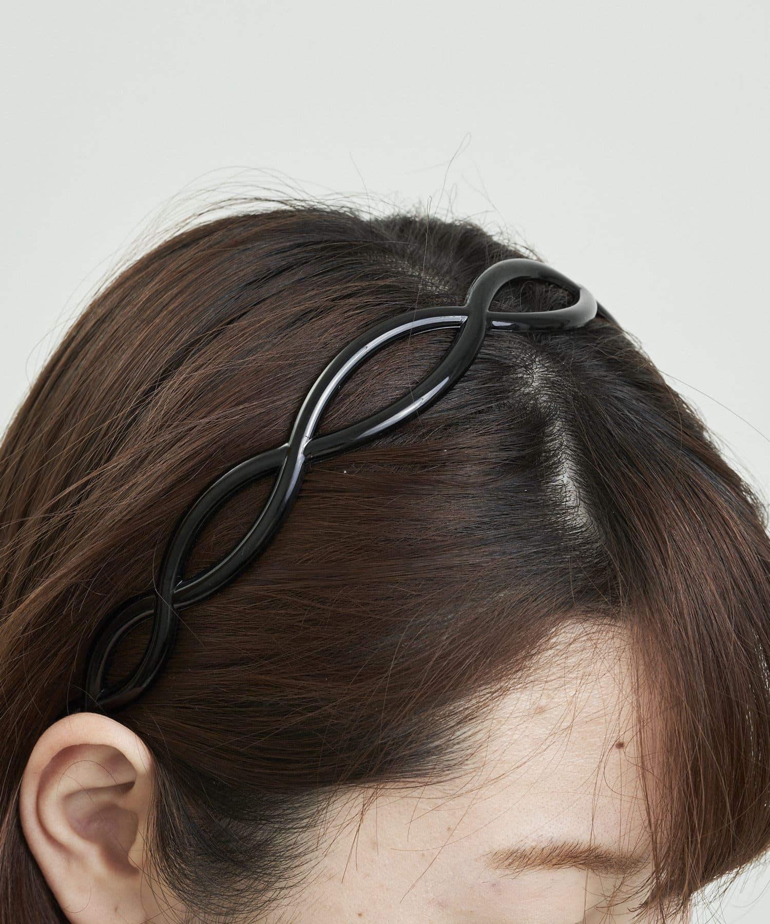 3COINS(スリーコインズ) ライフスタイル アクリルカチューシャ ブラック