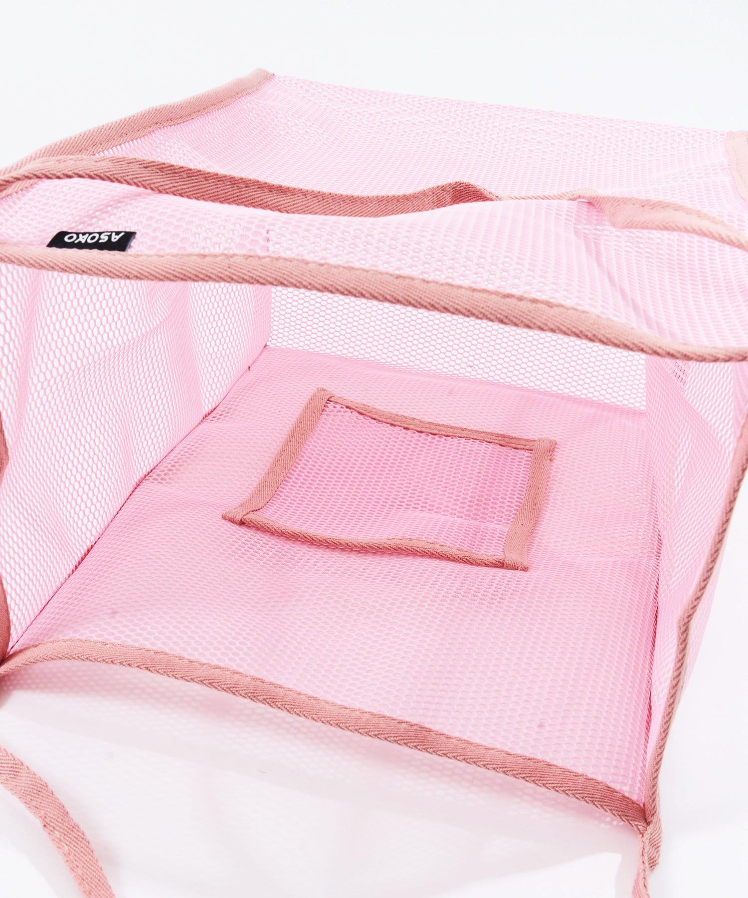 3COINS(スリーコインズ) 【ASOKO】【WEB限定色】メッシュトートバッグ