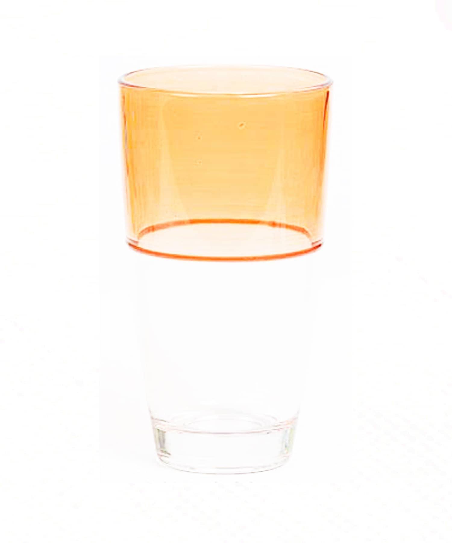 CIAOPANIC TYPY(チャオパニックティピー) ライフスタイル 【aamu-アーム】2トーングラス オレンジ