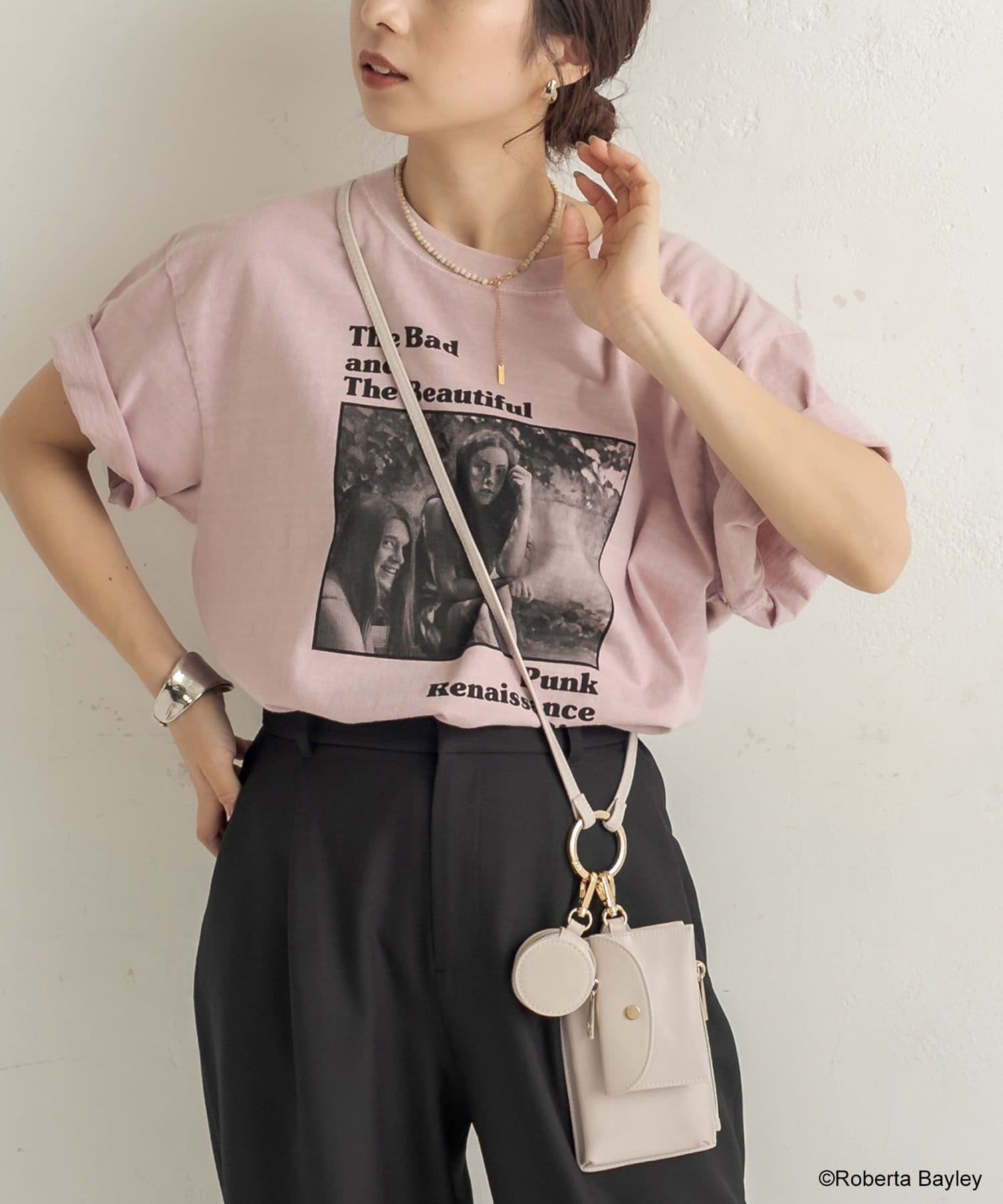 CAPRICIEUX LE'MAGE(カプリシュレマージュ) 【GOOD ROCK SPEED】Roberta USED Tシャツ