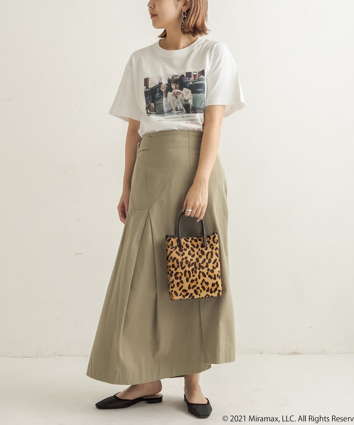 CAPRICIEUX LE'MAGE(カプリシュレマージュ) 【GOOD ROCK SPEED】PULPFICTIONフォトシャツ