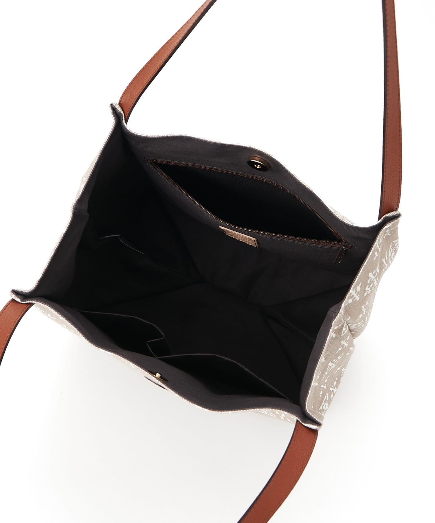 russet(ラシット) 《新作》たためるバッグ【コットンジャガード】(CE-853)