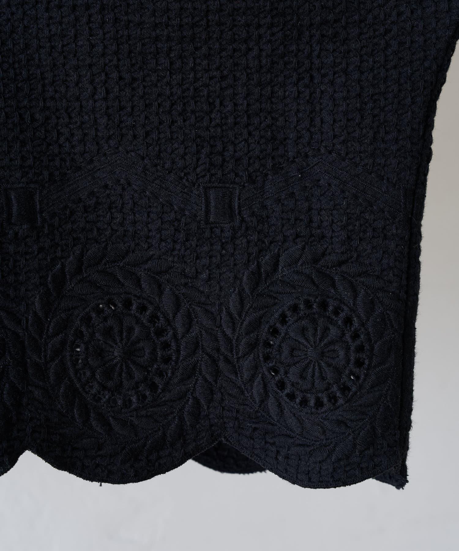BEARDSLEY(ビアズリー) 《羽織にもなる》刺繍プルオーバーブラウス