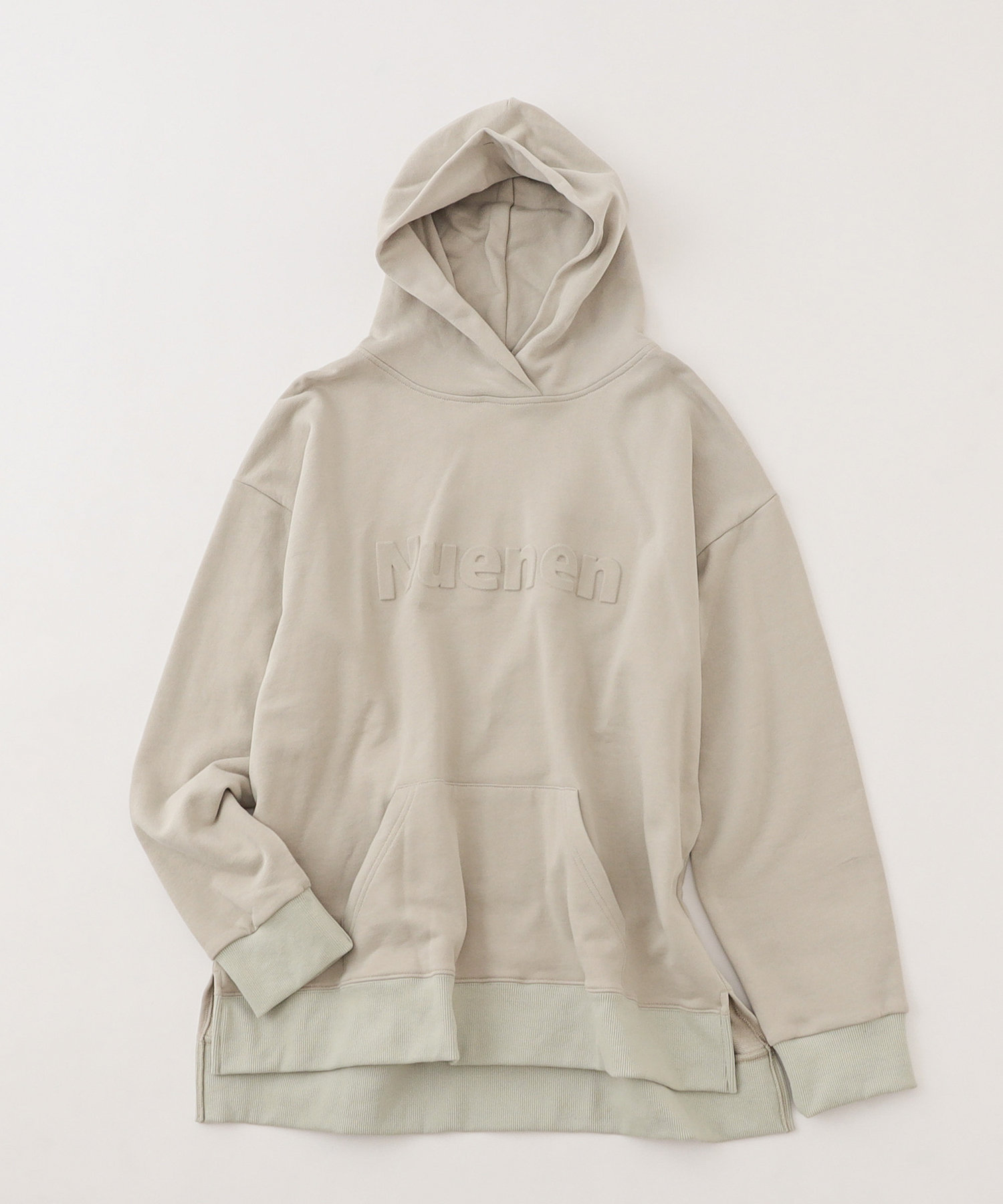 NICE CLAUP OUTLET(ナイスクラップ アウトレット) 【NUNIFE】Nuenen エンボスパーカー