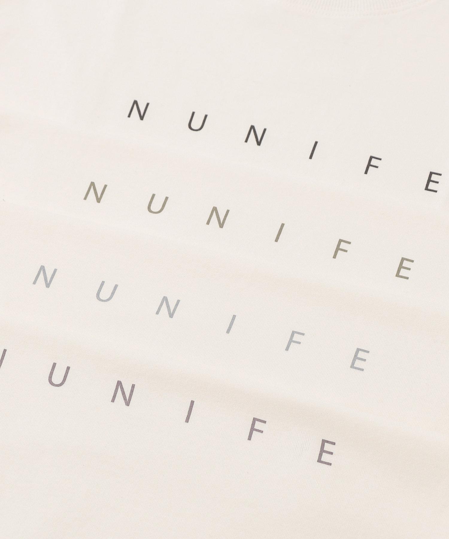 NICE CLAUP OUTLET(ナイスクラップ アウトレット) 【NUNIFE】NUNIFE ロゴロンT