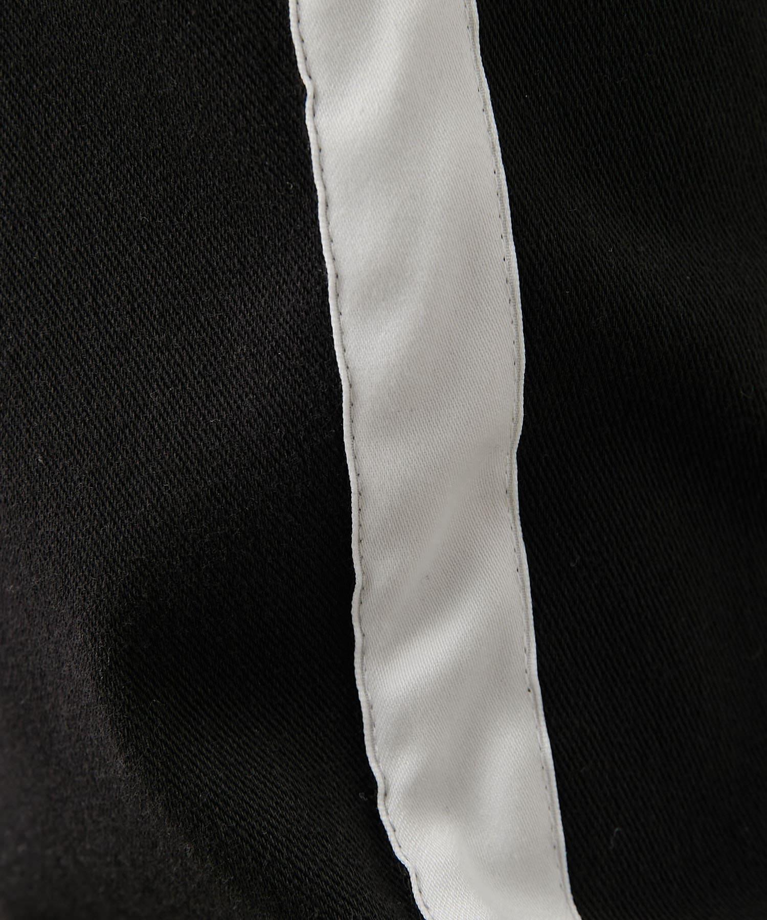 COLONY 2139(コロニー トゥーワンスリーナイン) 4WAYストレッチライン入り裾ダブルパンツ